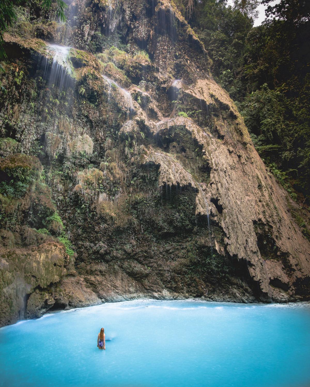 Tumalog Falls, Oslob Cebu, The Philippines