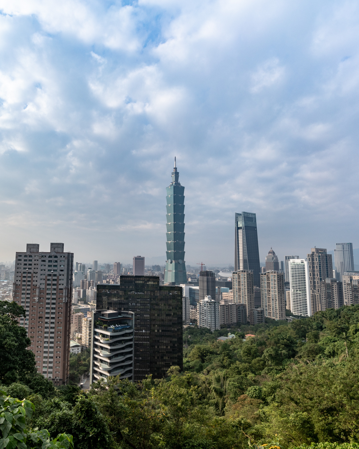 The Lower Viewpoint at Elephant Rock, Taipei