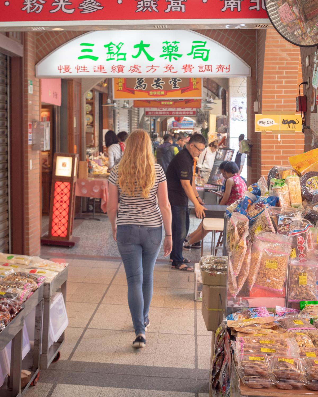 Dihua Street in Taipei - Just a market