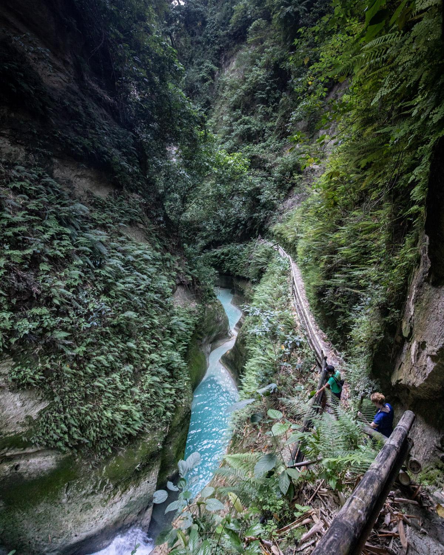 The epic views at Dao Falls