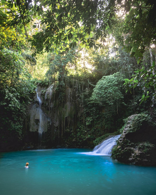 The beautiful Cambais Falls in Cebu