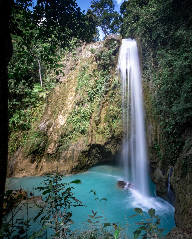 The views of Inambakan Falls - Cebu