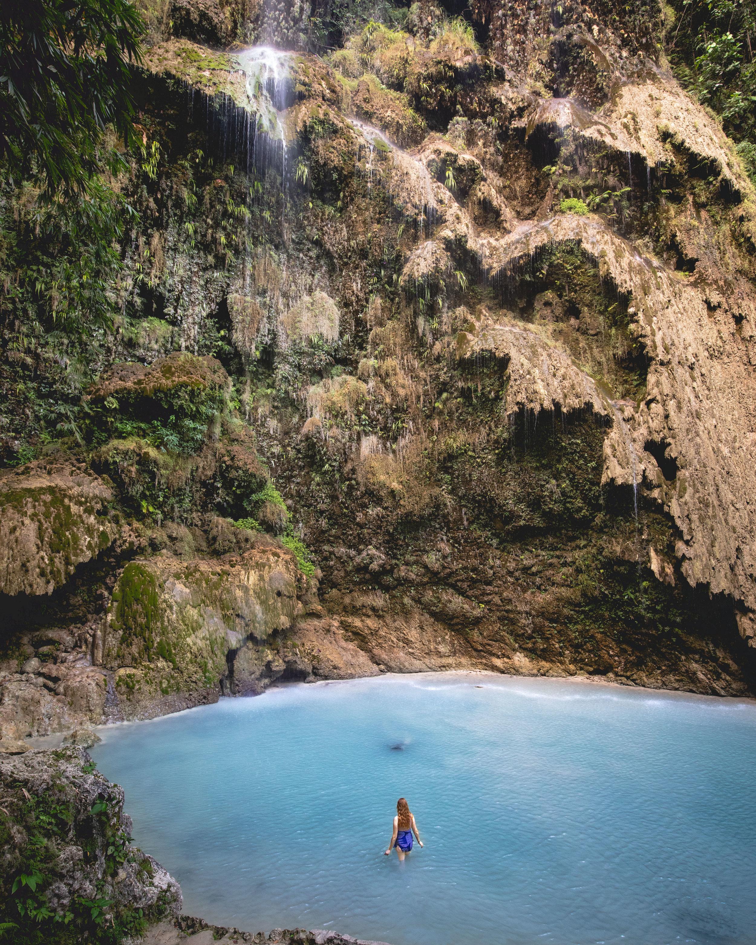 Tumalog Falls Entrance Fee