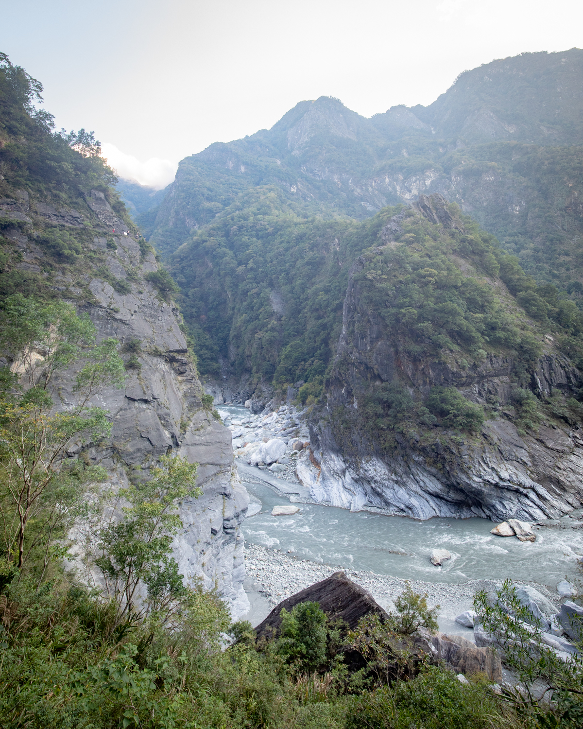 The views from the Lushui Trail