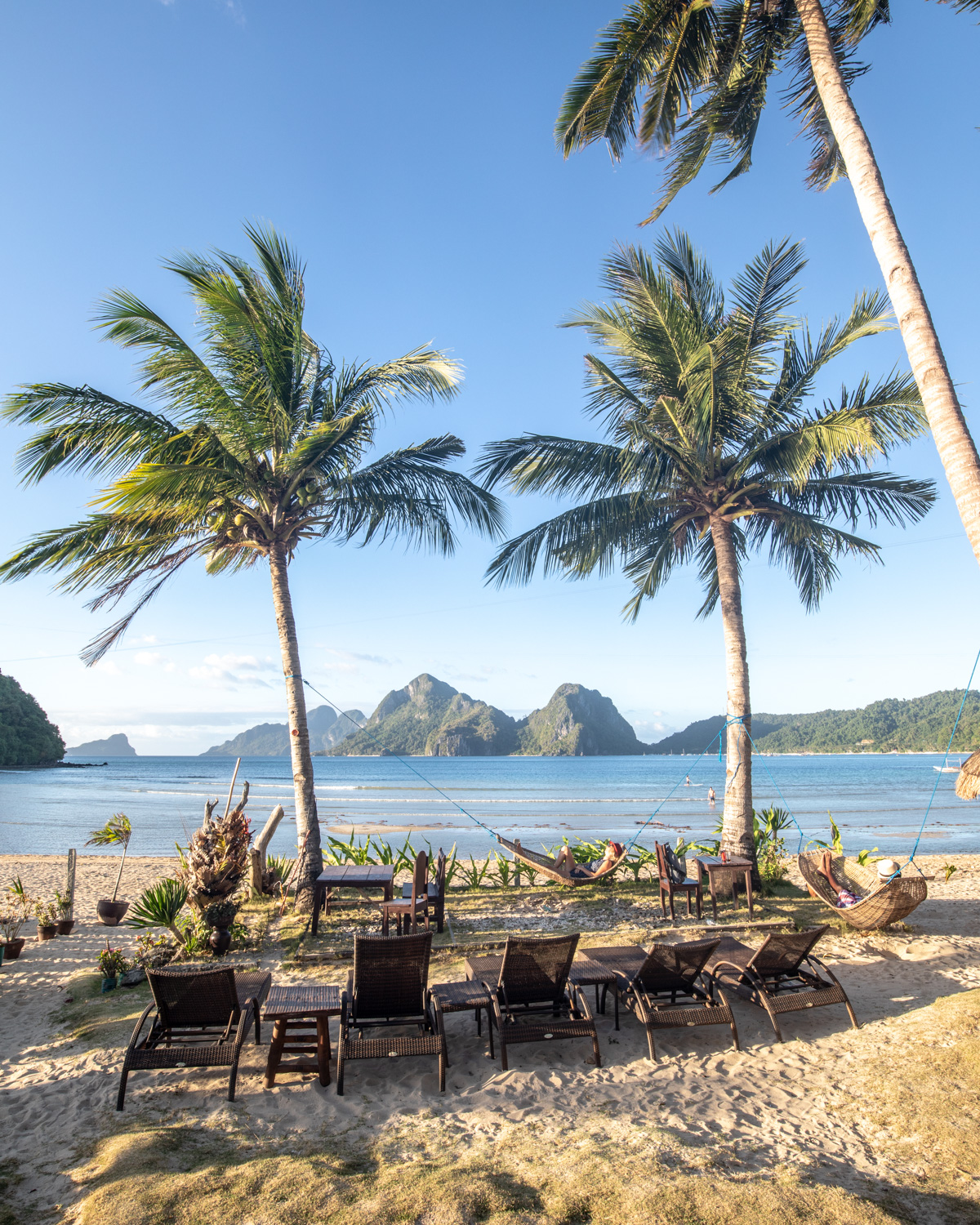 Things to do in El Nido aside from Island Hopping: The bar at Las Cabanas in El Nido, Palawan