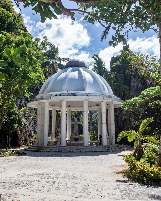 The Christian Shrine at Matinloc Island - El Nido, Palawan