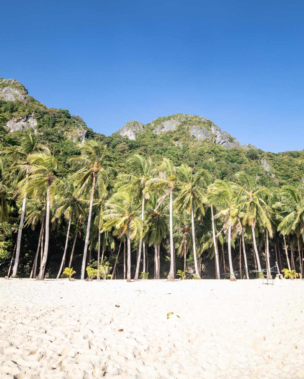 Seven Commandos Beach in El Nido, Palawan