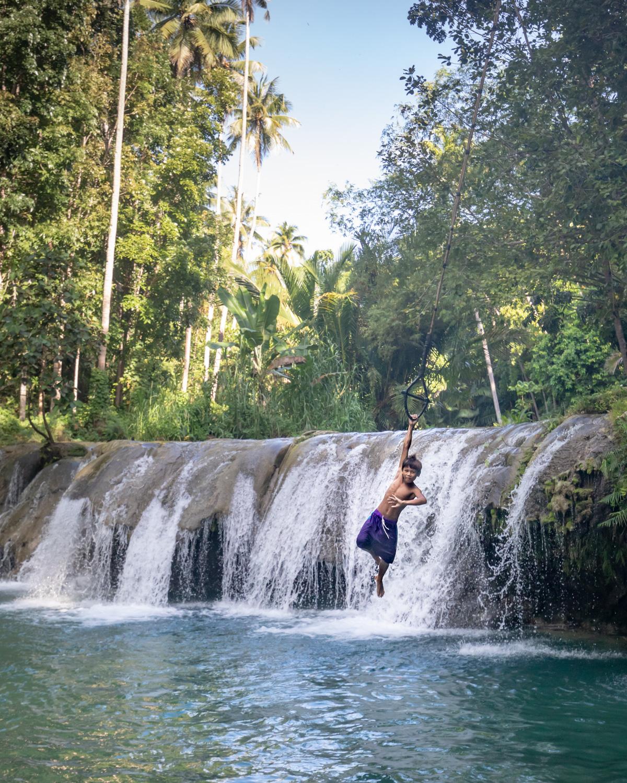 Cambugahay Falls Swings