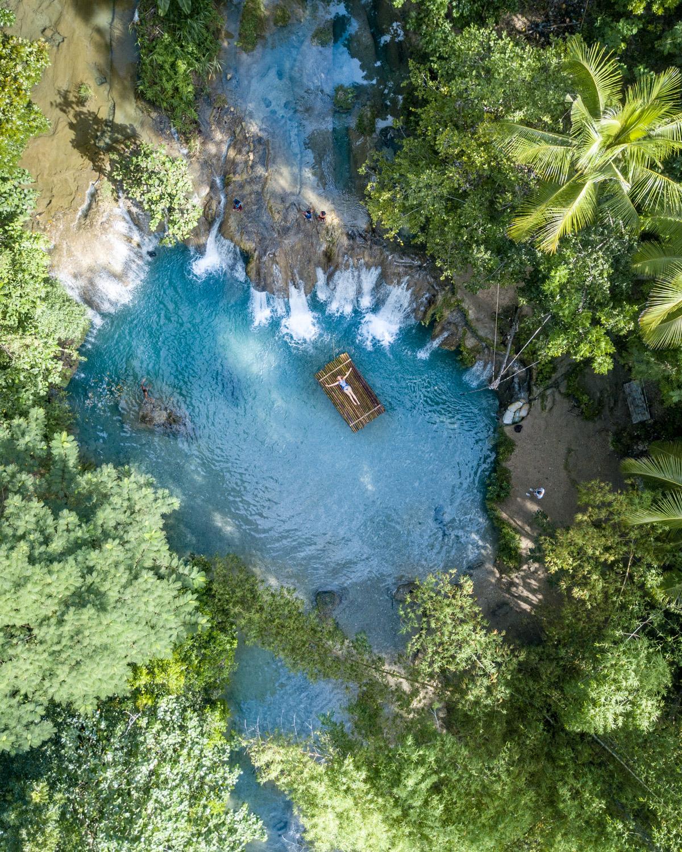 Having Cambugahay Falls all to yourself