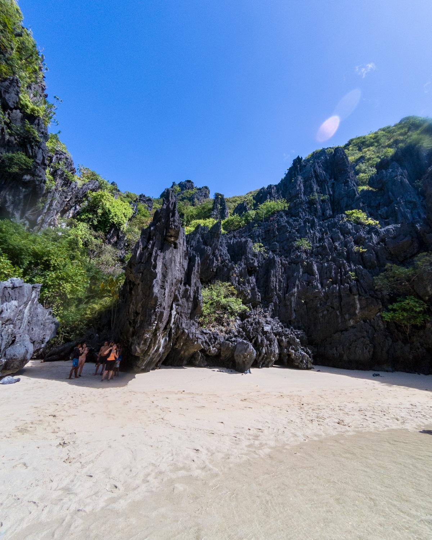 Secret Beach, Island Hopping in El Nido