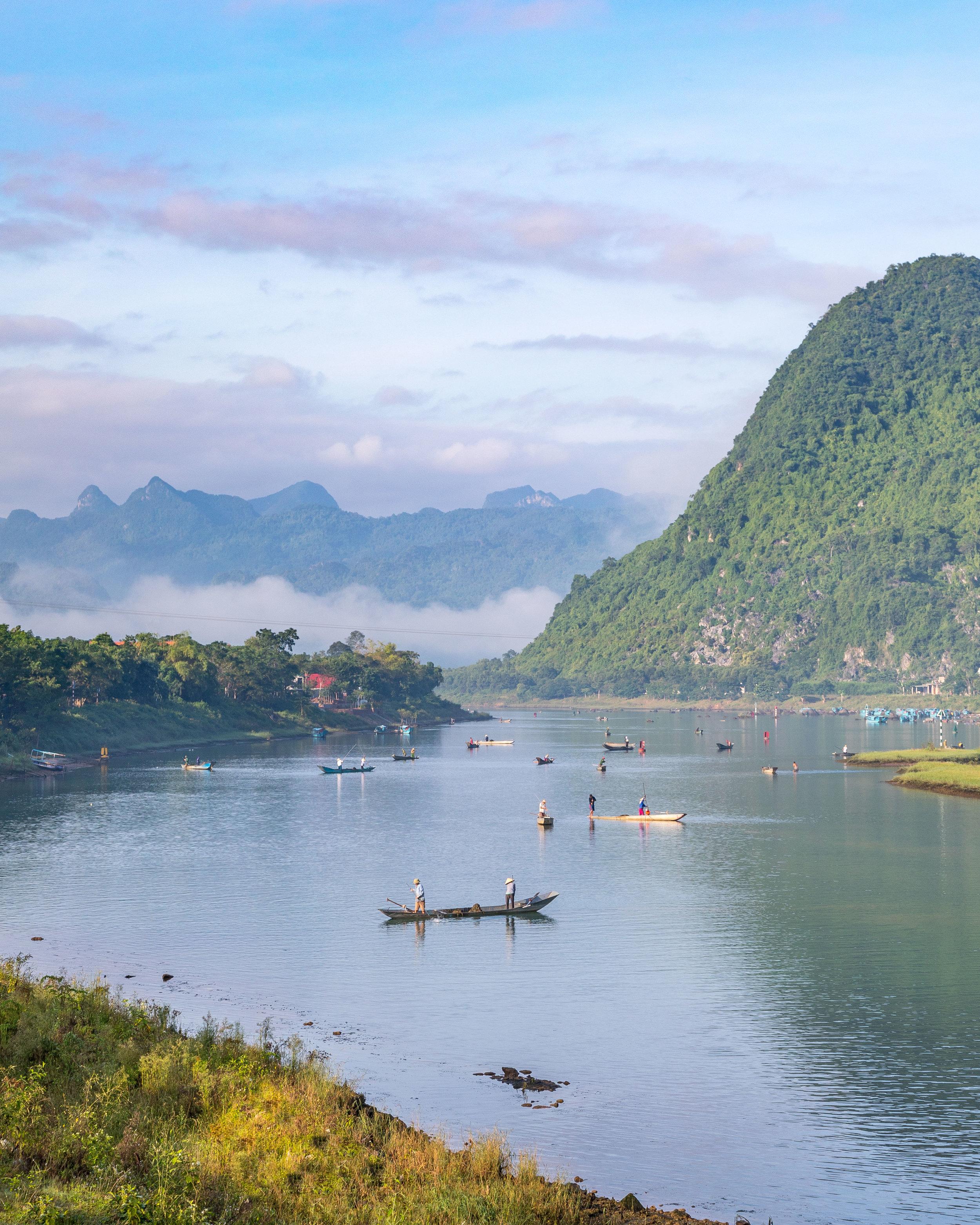 Sunrise at Phong Nha