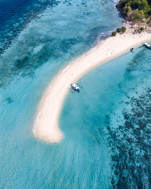 The epic sandbar at Ditaytayan Island