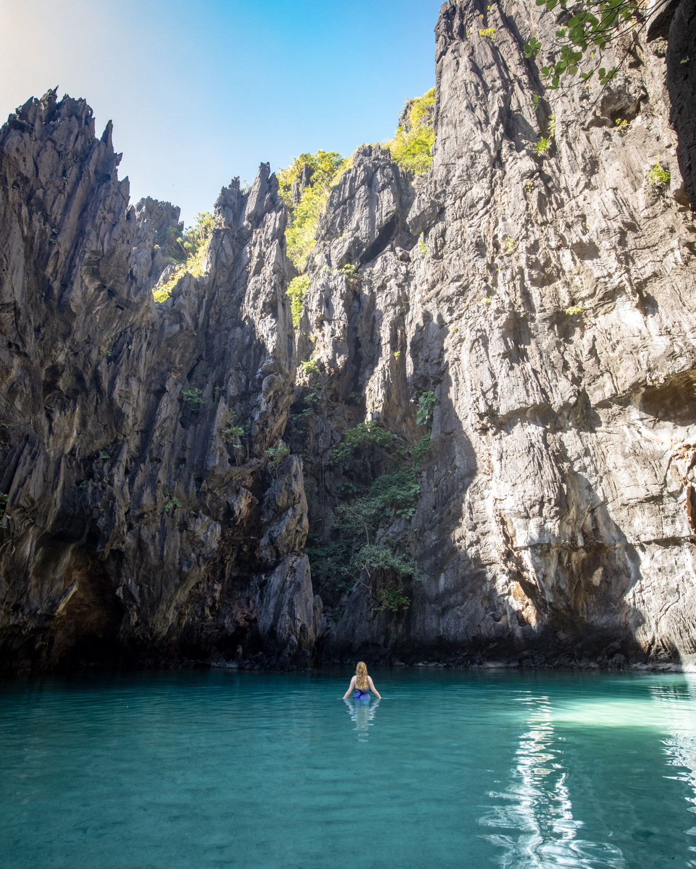 The stunning Secret Lagoon