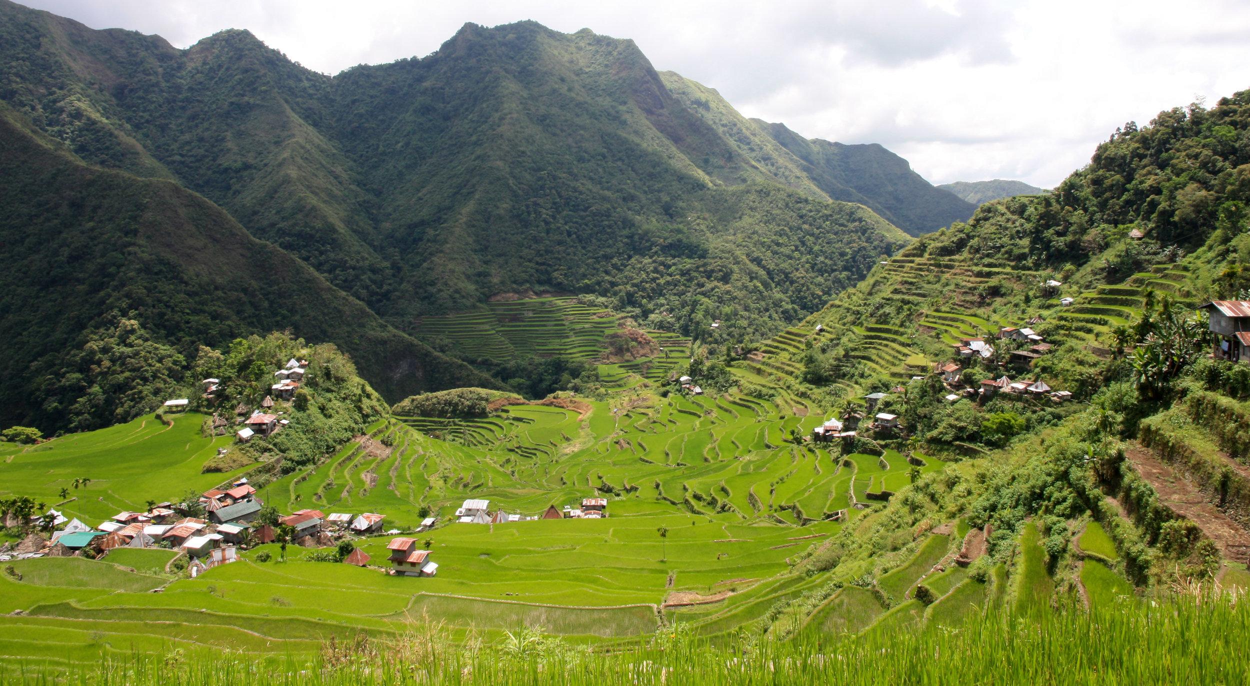 Beautiful Batad in the Cordillera