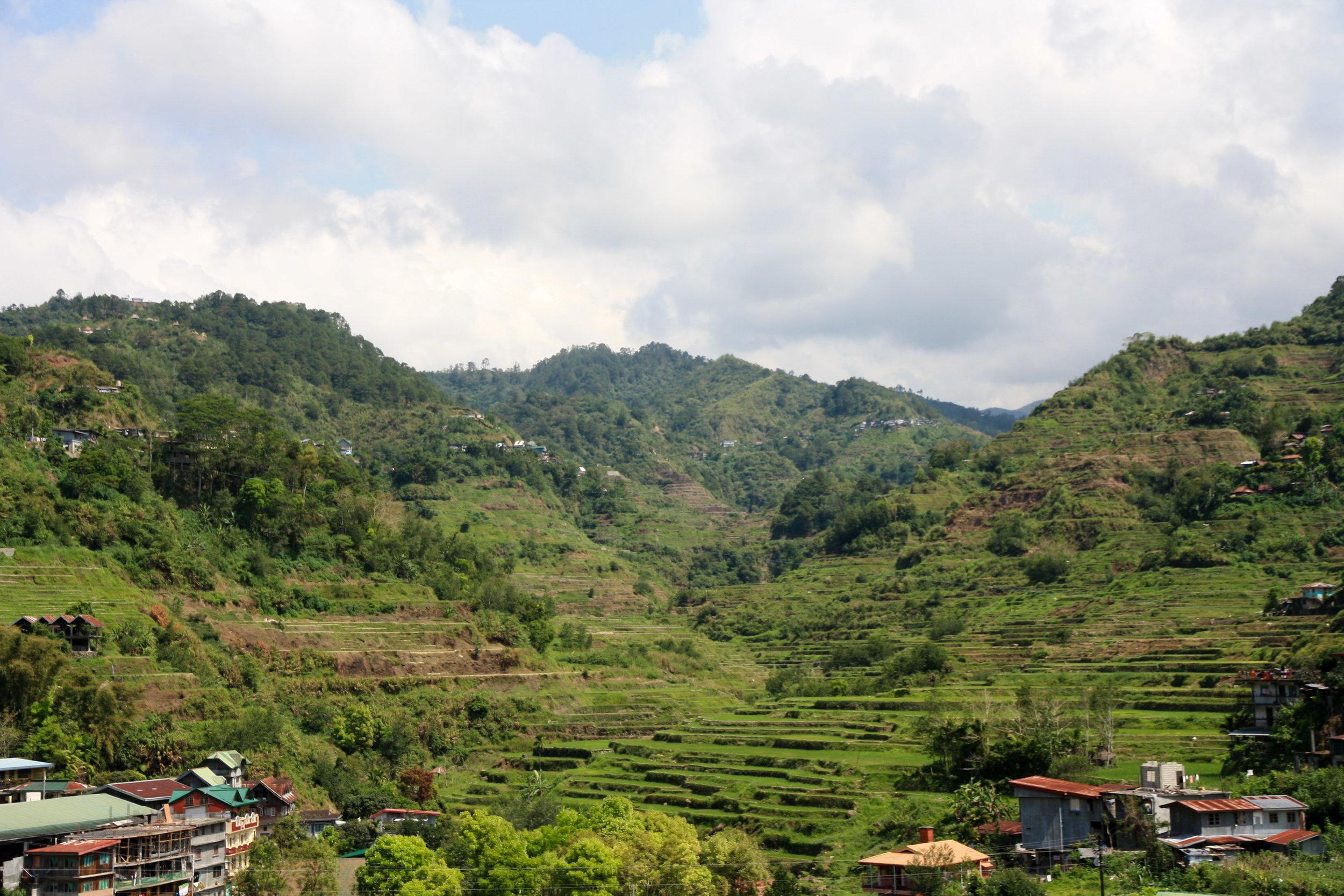 The rice terraces of Banaue