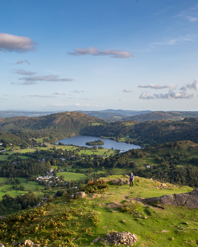 A quintessential Lake District view from Helm Crag