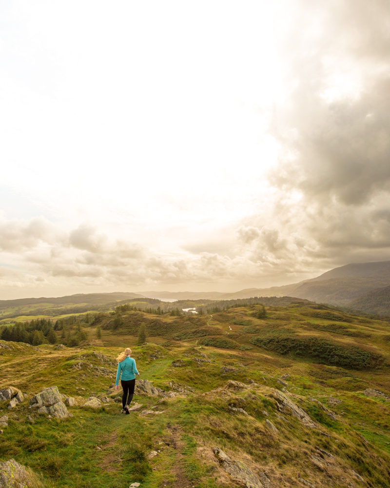 The views from the top of Black Fell