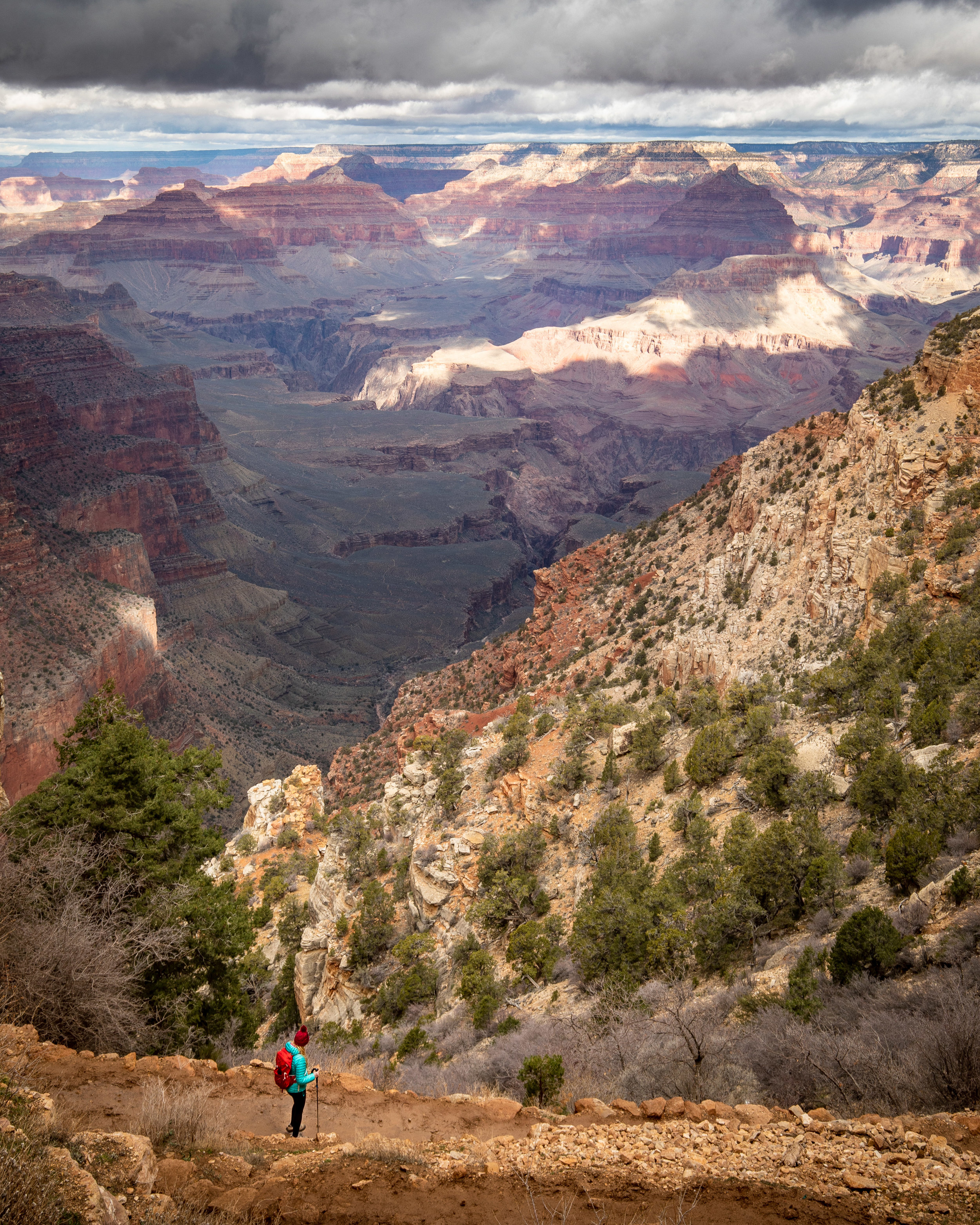The start of the South Kaibab Trail