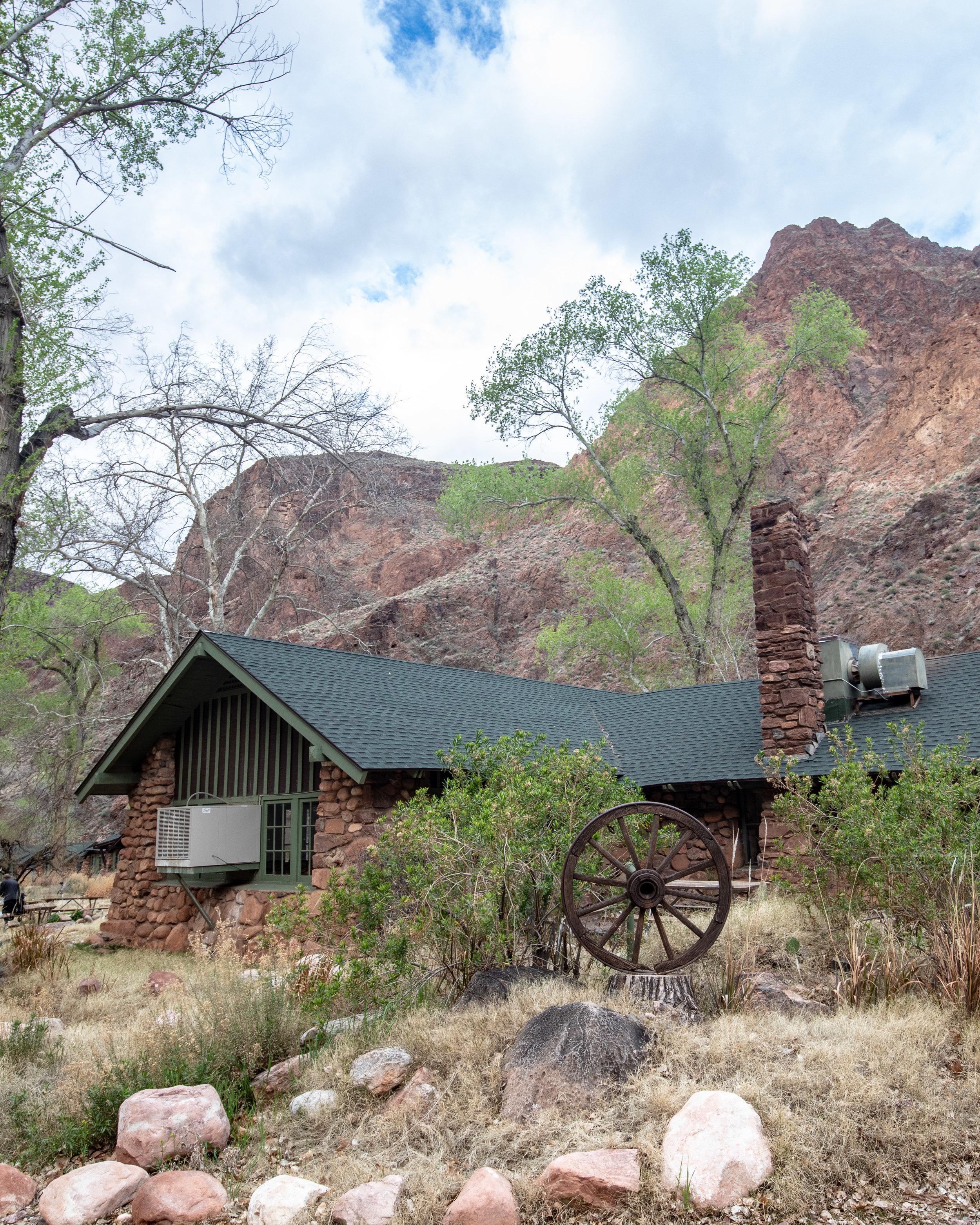 The canteen at Phantom Ranch