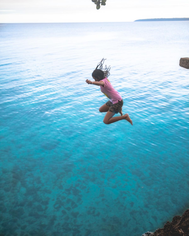 Cliff Diving at Salagdoong Beach - Siquijor