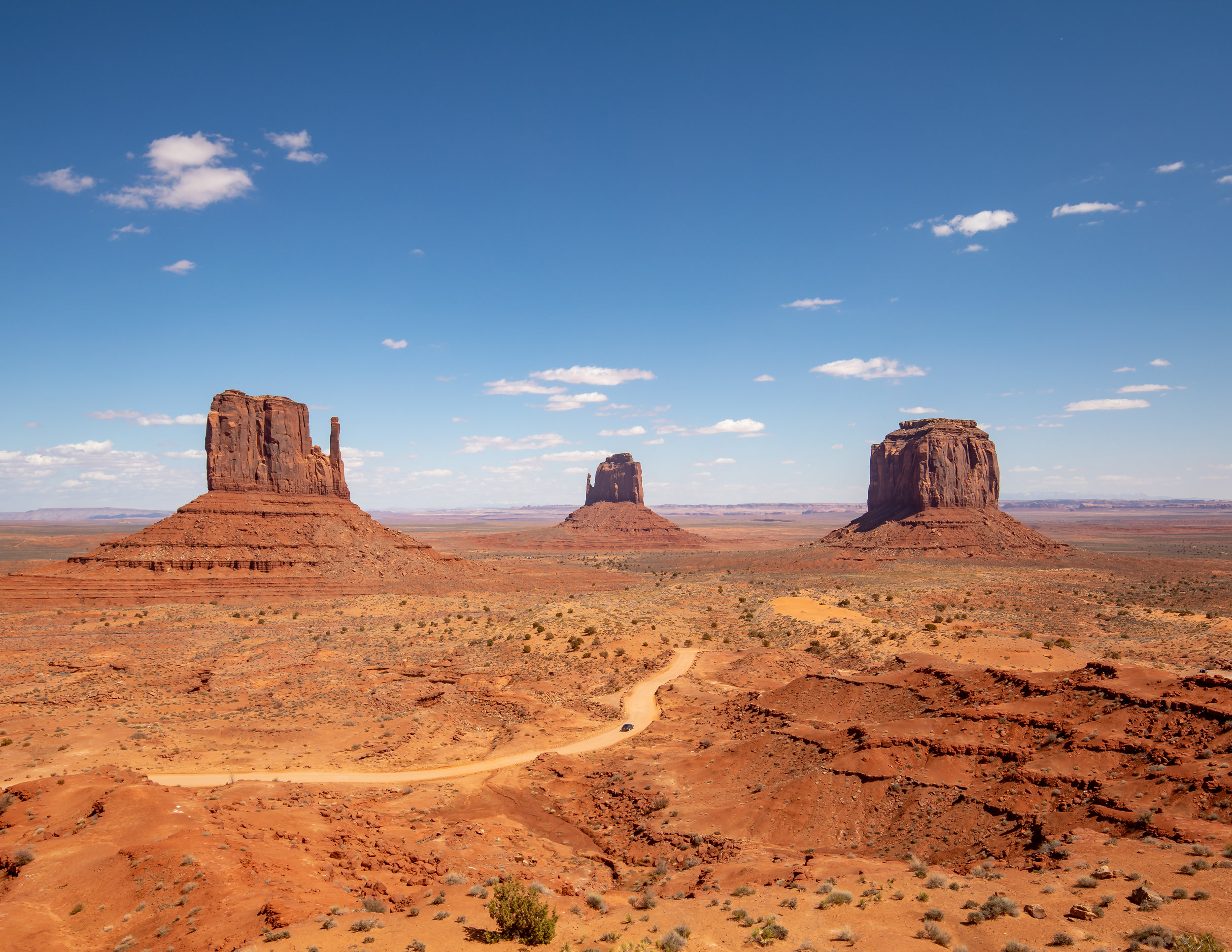 Monument Valley, shot with a Canon 5d MKiv