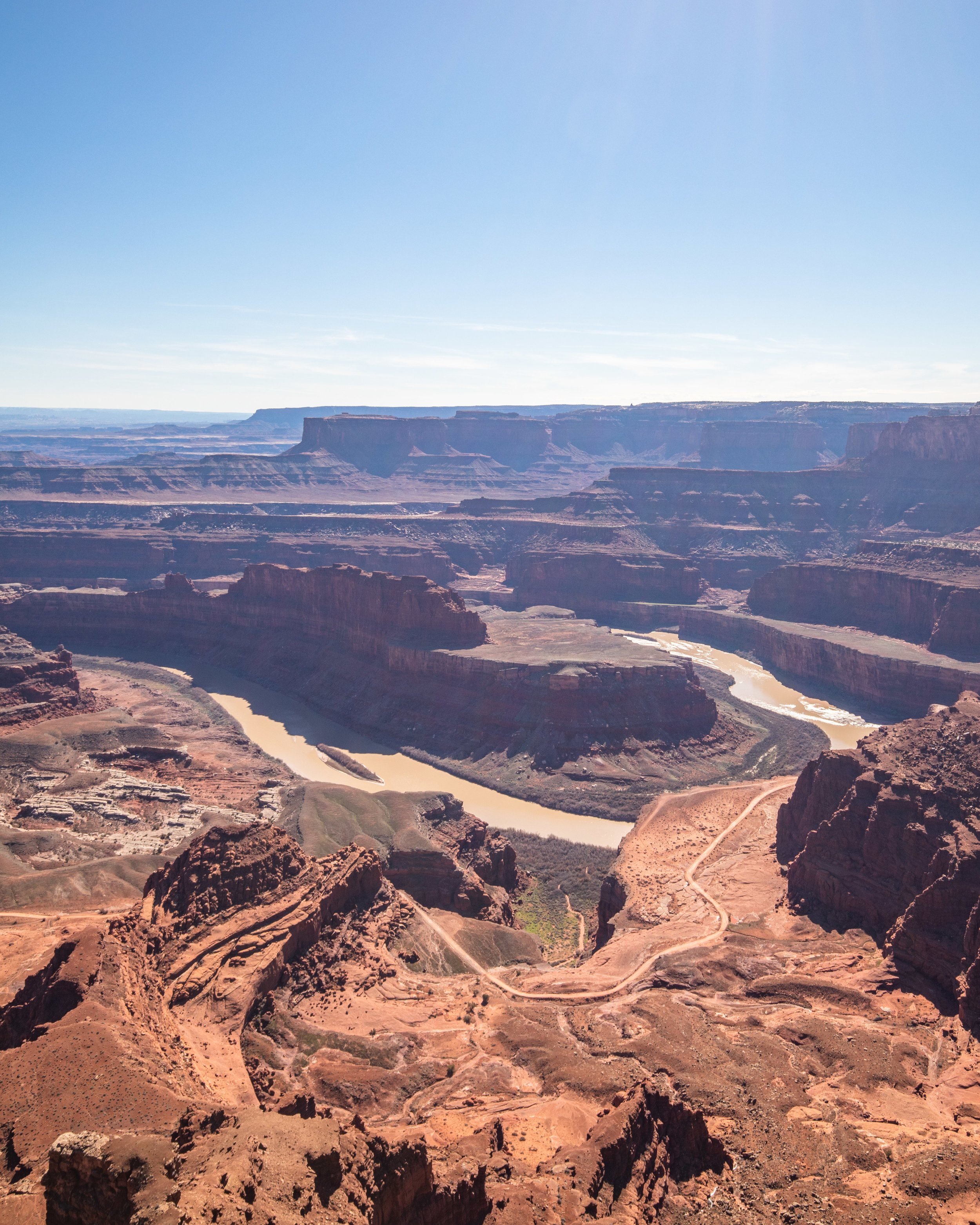 The view from Dead Horse Point Overlook