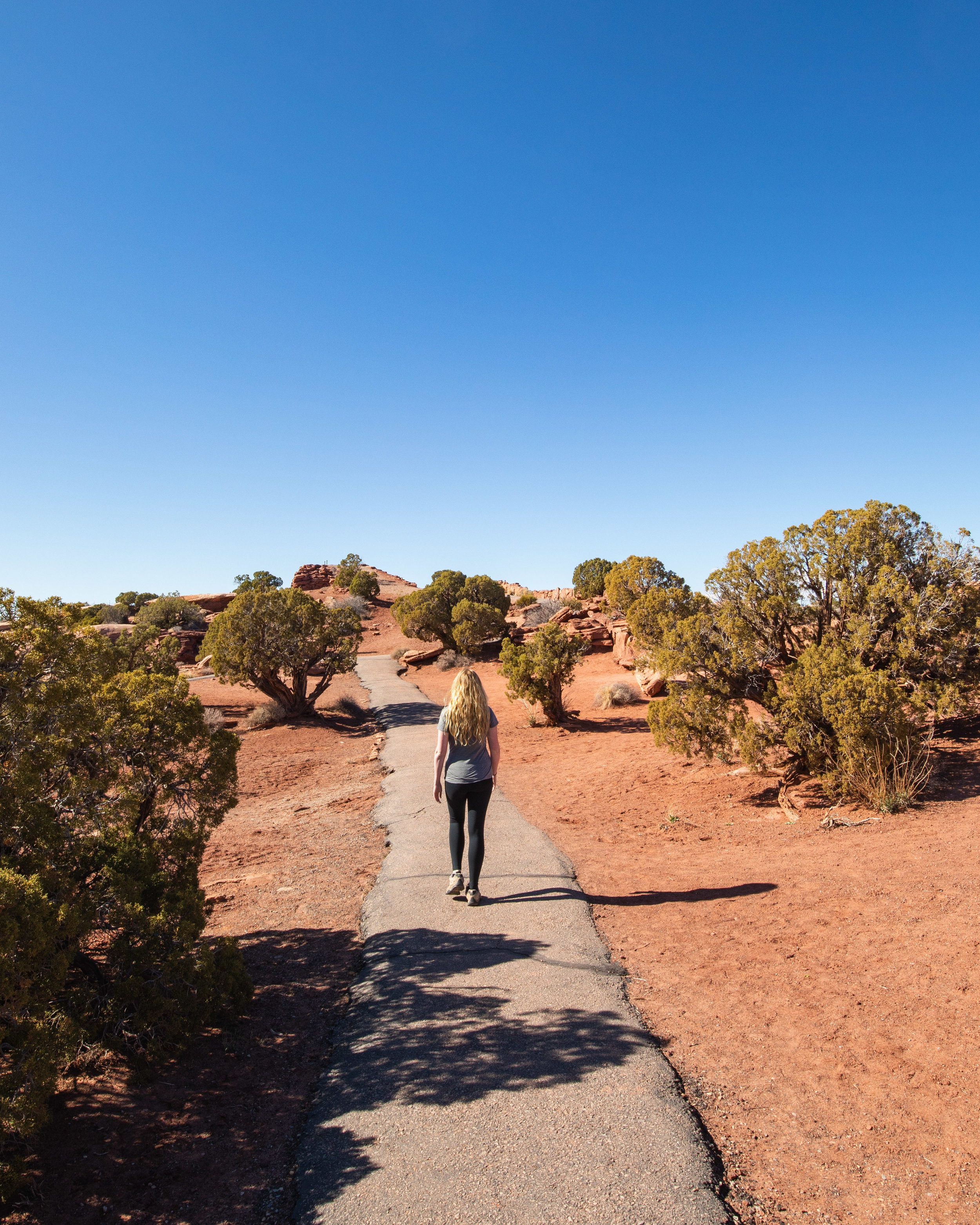 The East Rim Trail at Dead Horse Point State Park