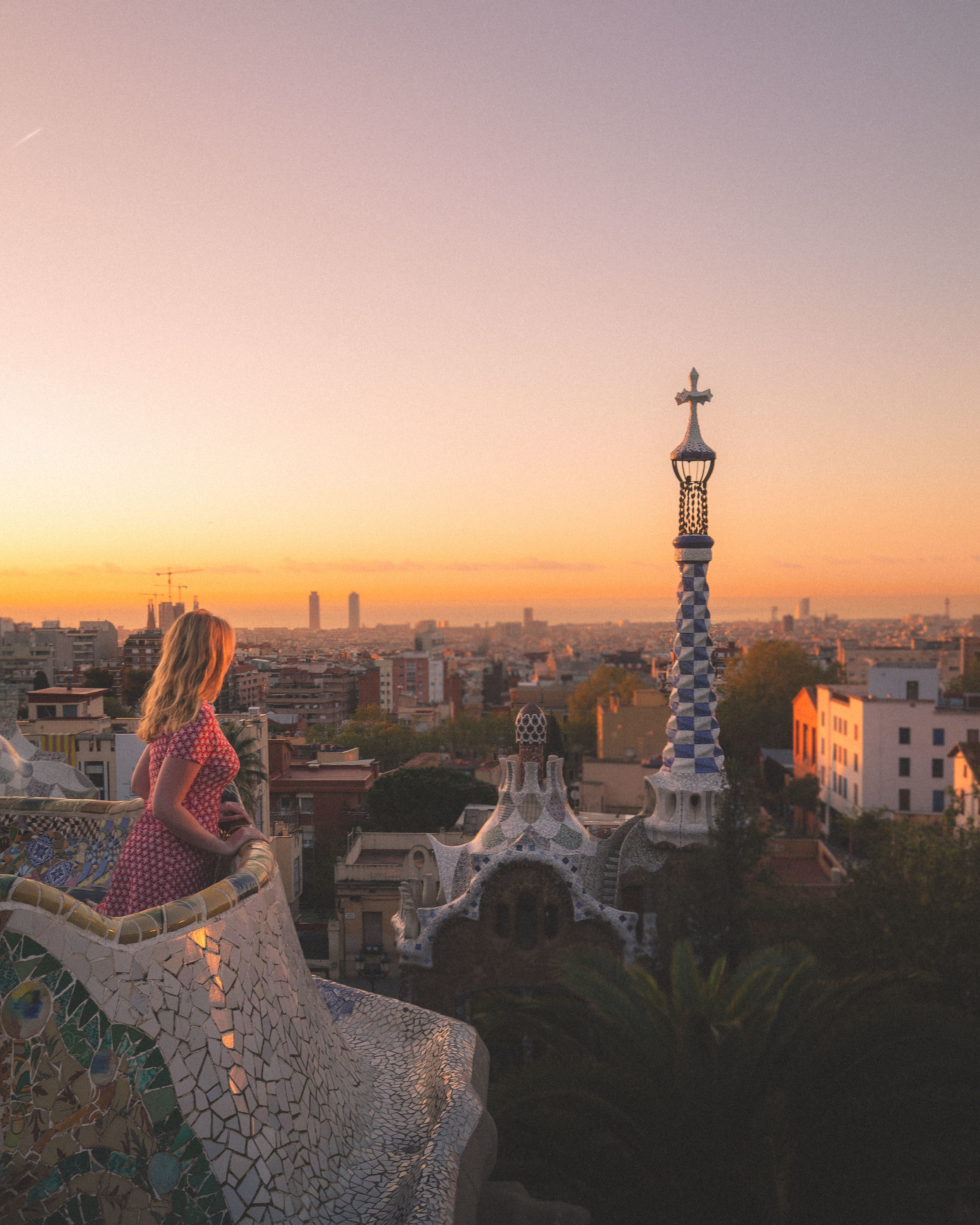 Instagrammable places in Barcelona - Park Guell