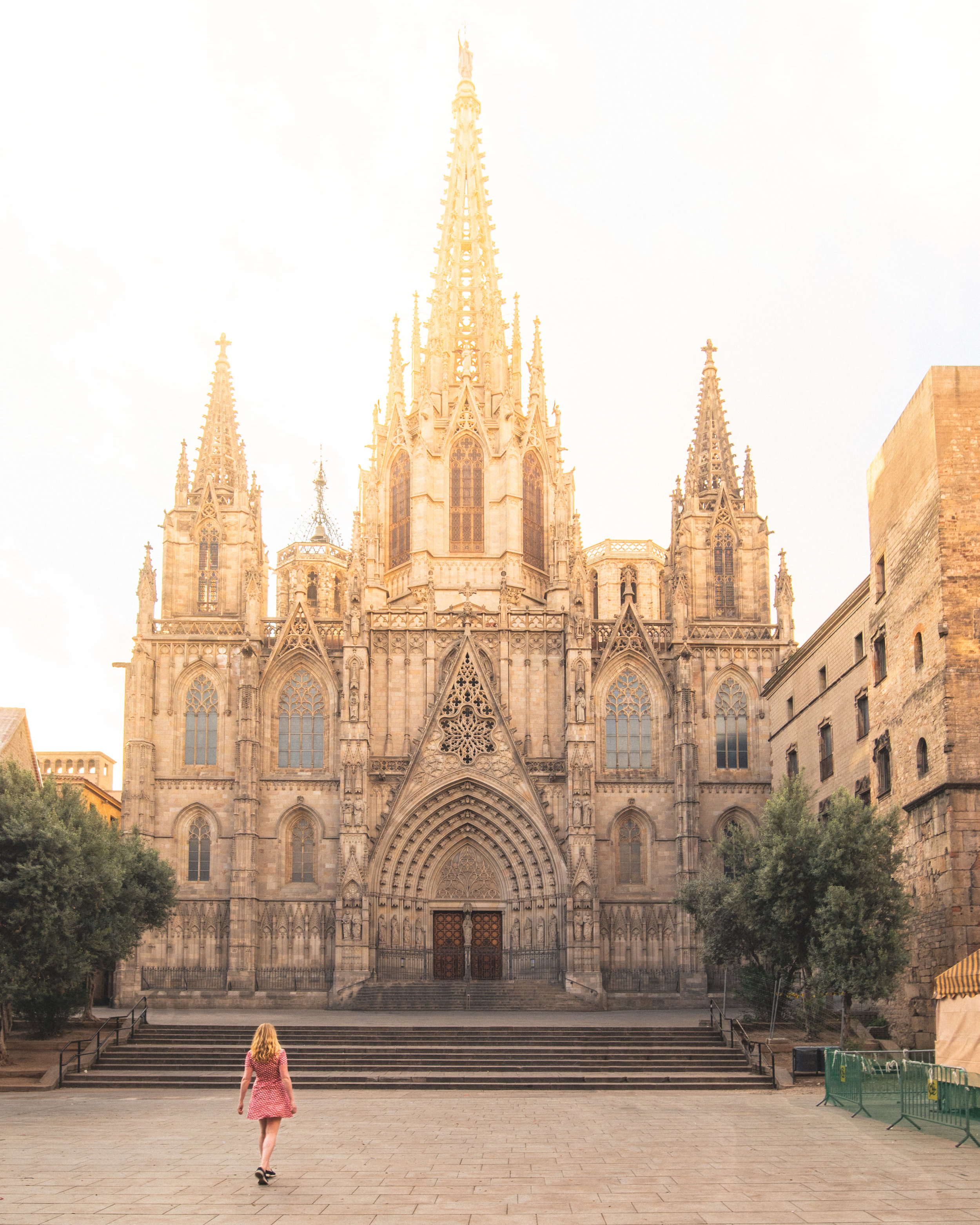 Instagrammable places in Barcelona - Barcelona Cathedral