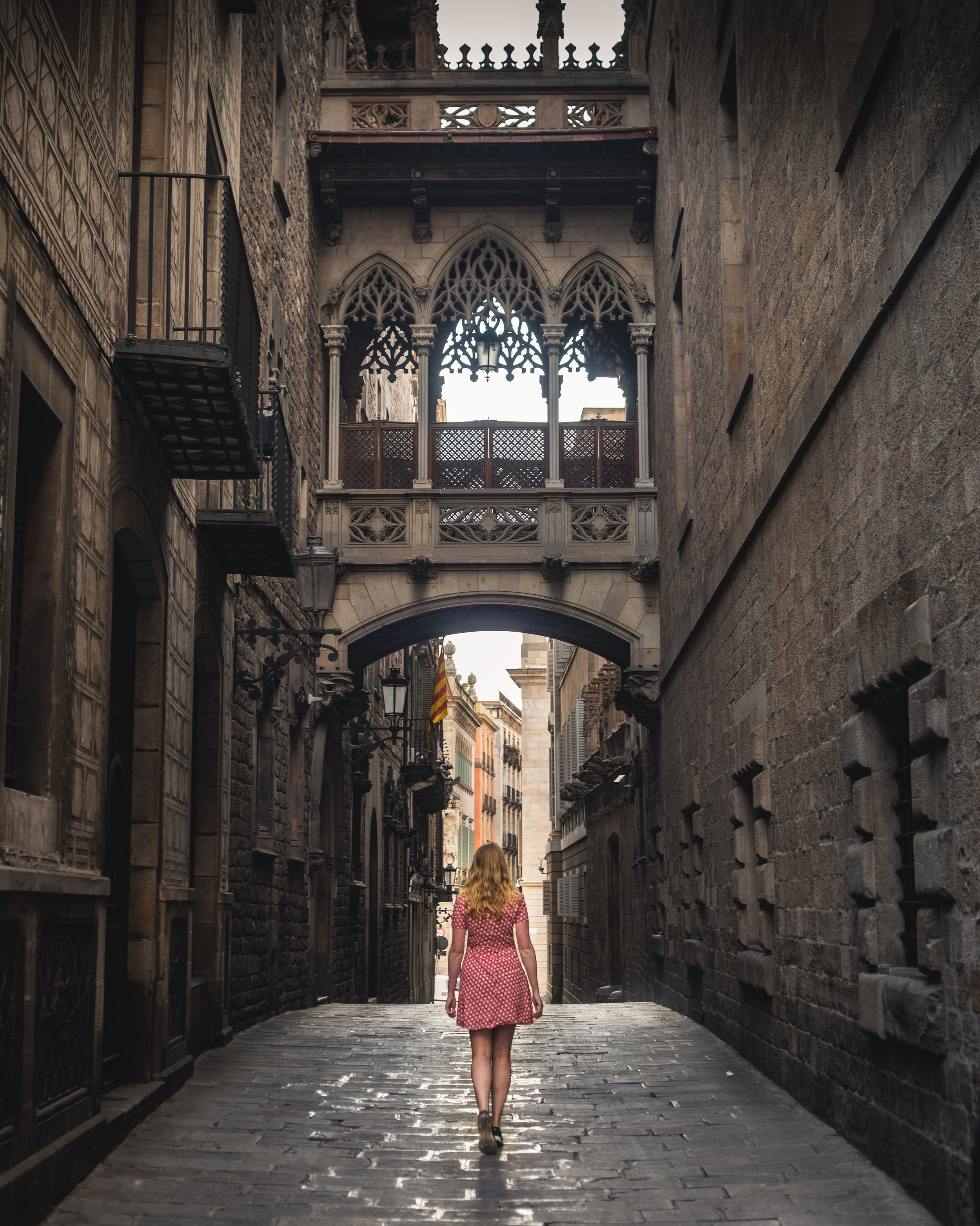 Pont Gotic - Barcelona Instagram Spots