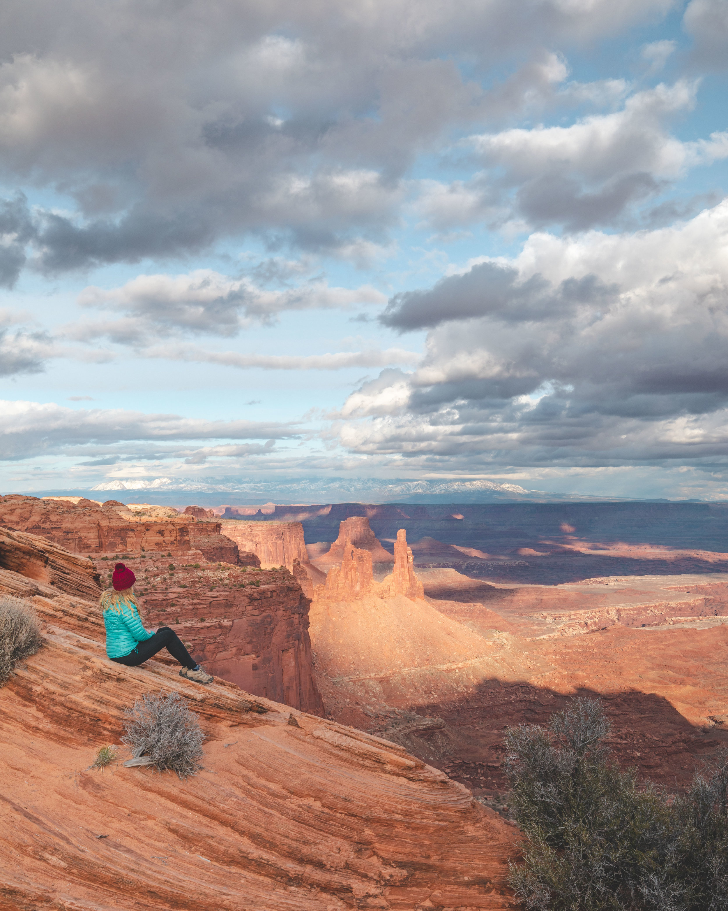 The views near Mesa Arch - Canyonlands National Park hikes