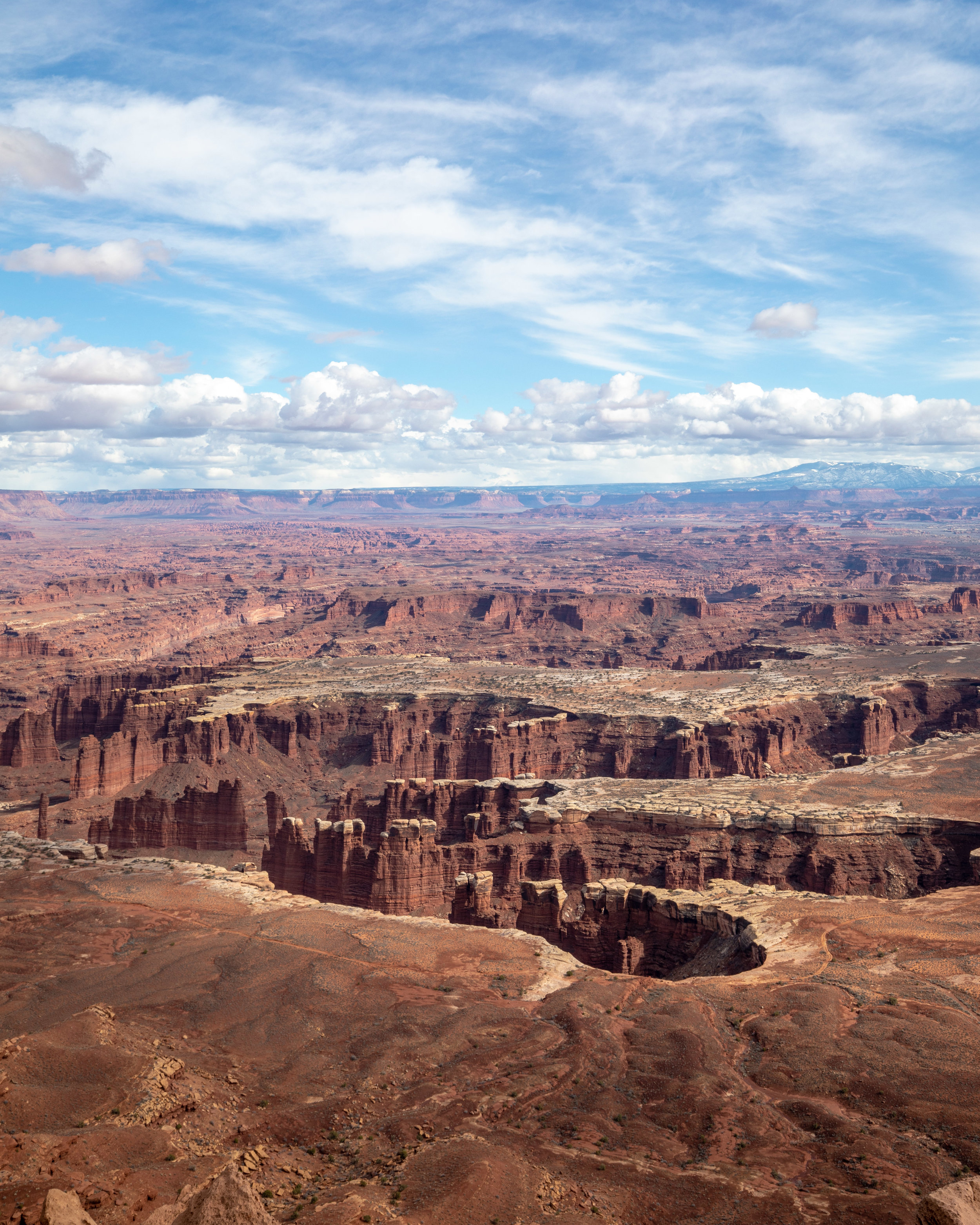 The views from Grand View Overlook - Hikes in Canyonlands