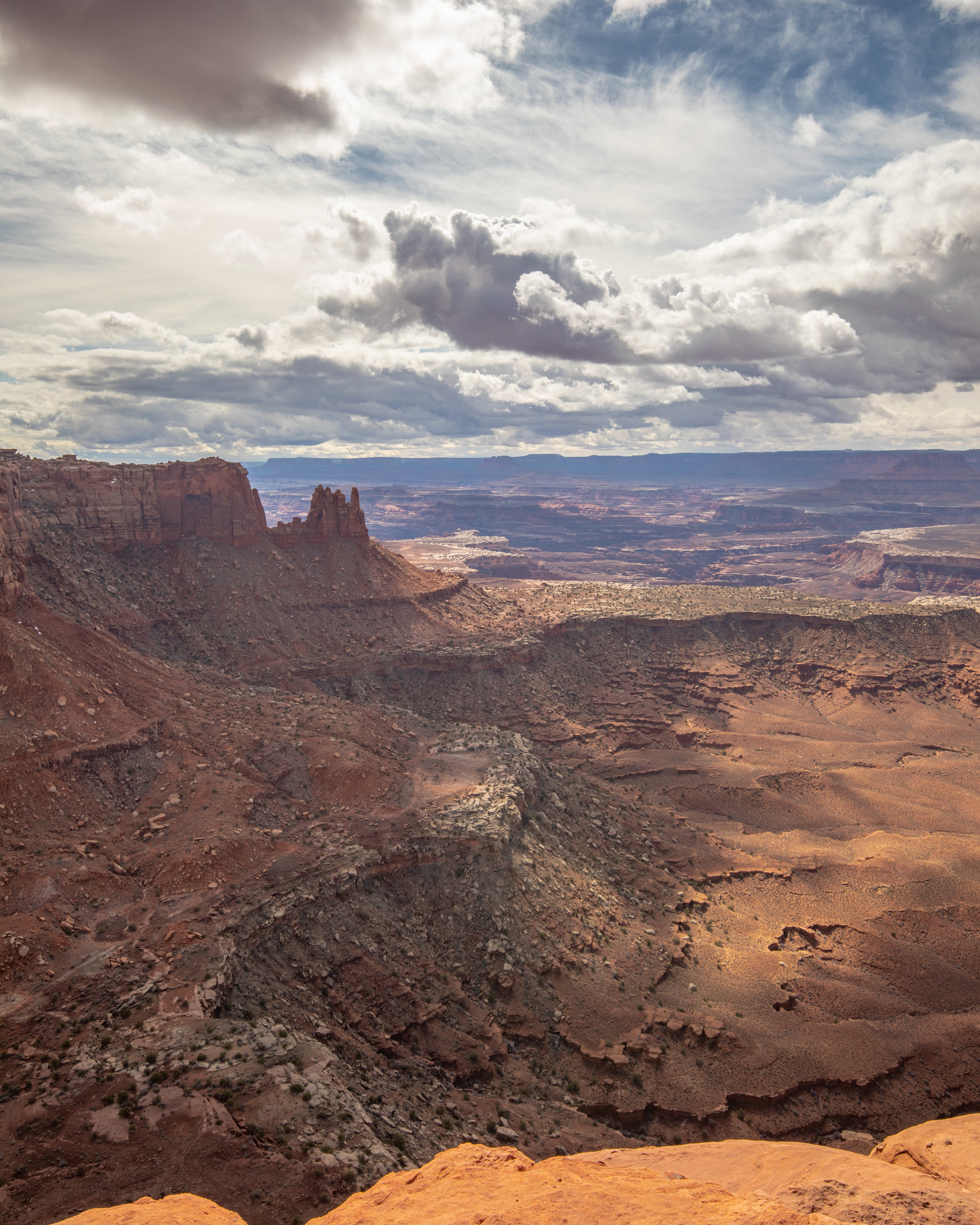 White Rim Overlook Trail - Canyonlands Hikes