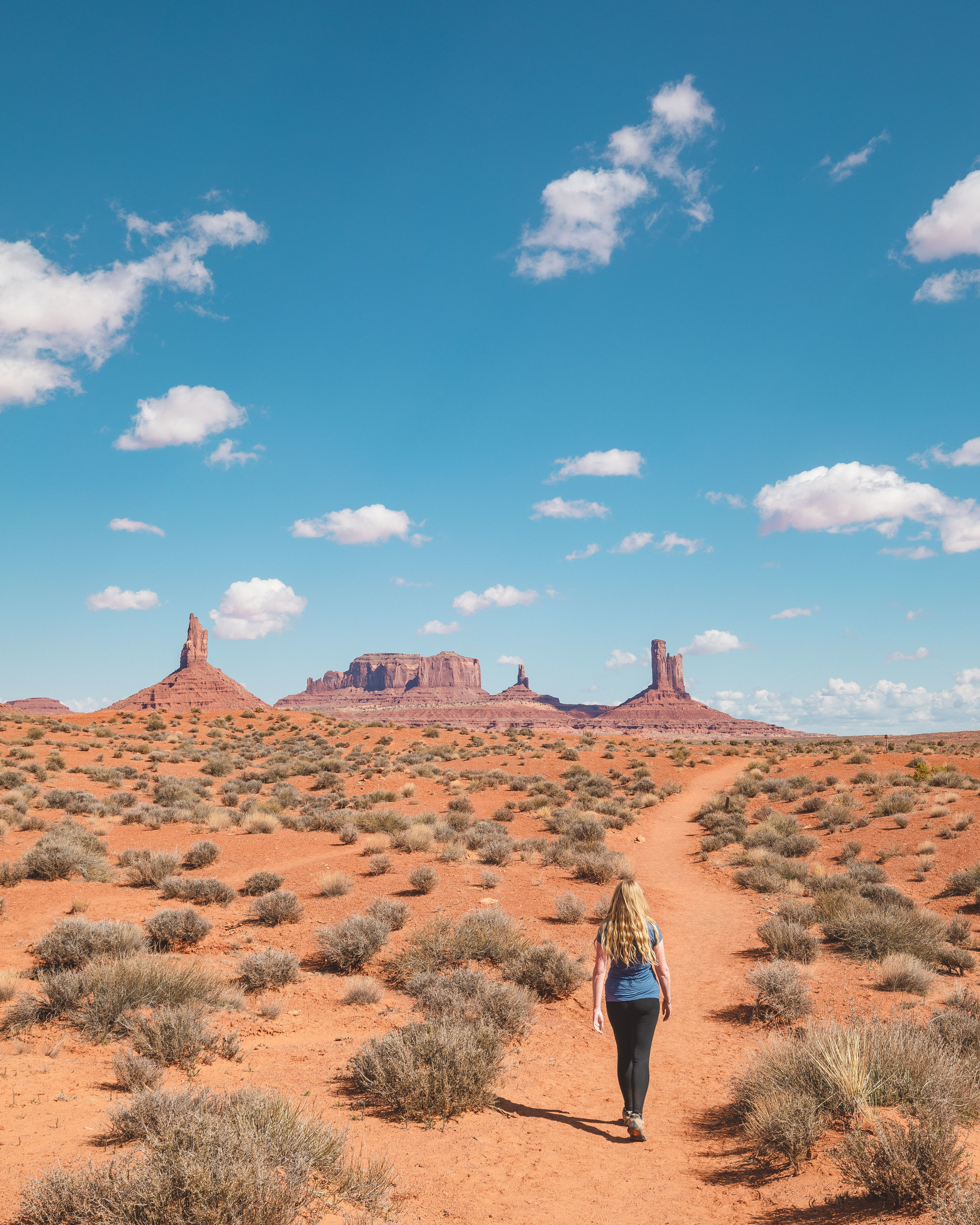 Wild Cat Hike in Monument Valley