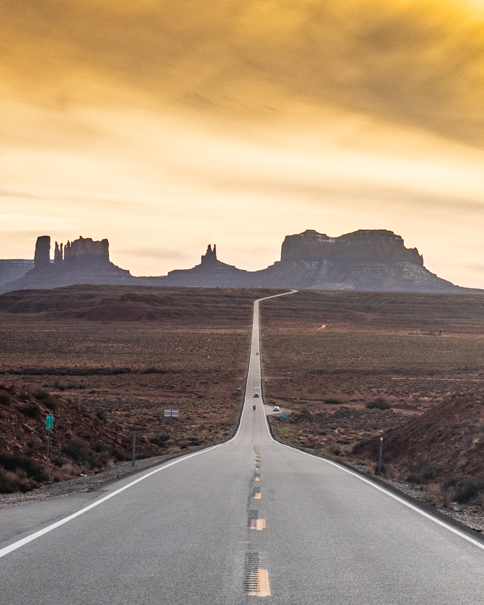 Forrest Gump Lookout - Monument Valley Utah