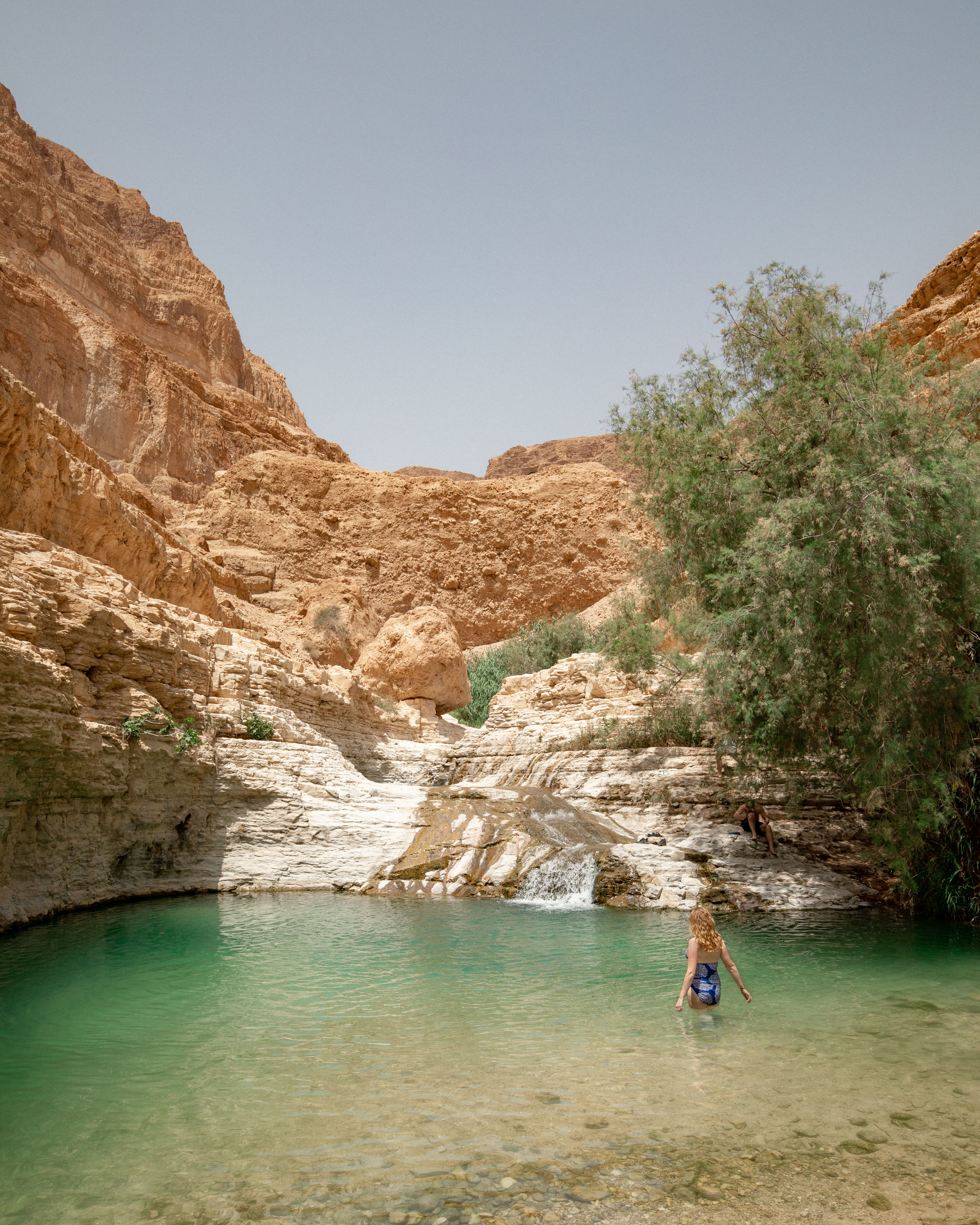 The stunning Upper Pool at Wadi Arugot