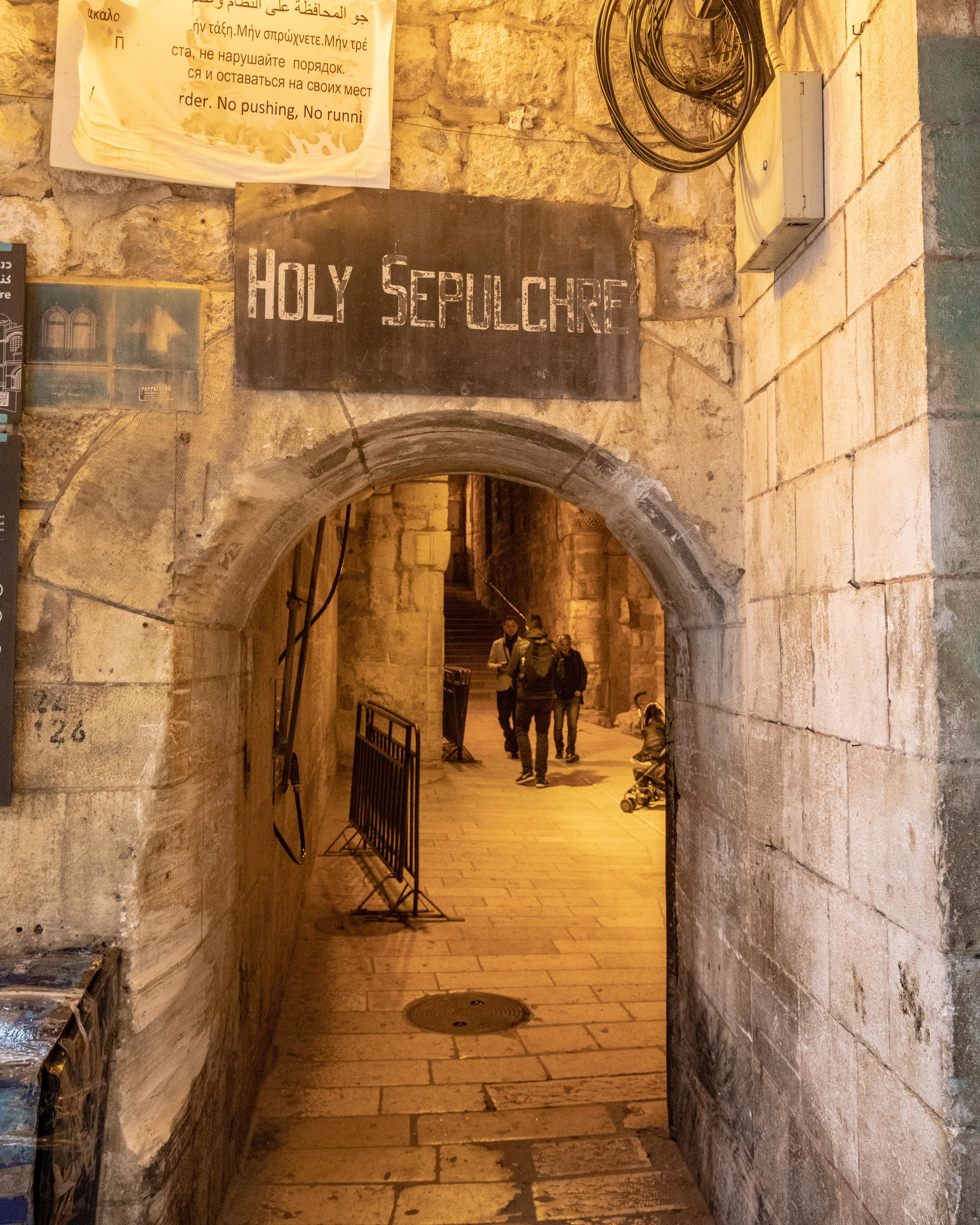 Entry to the Holy Sepulchre - things to do in Jerusalem