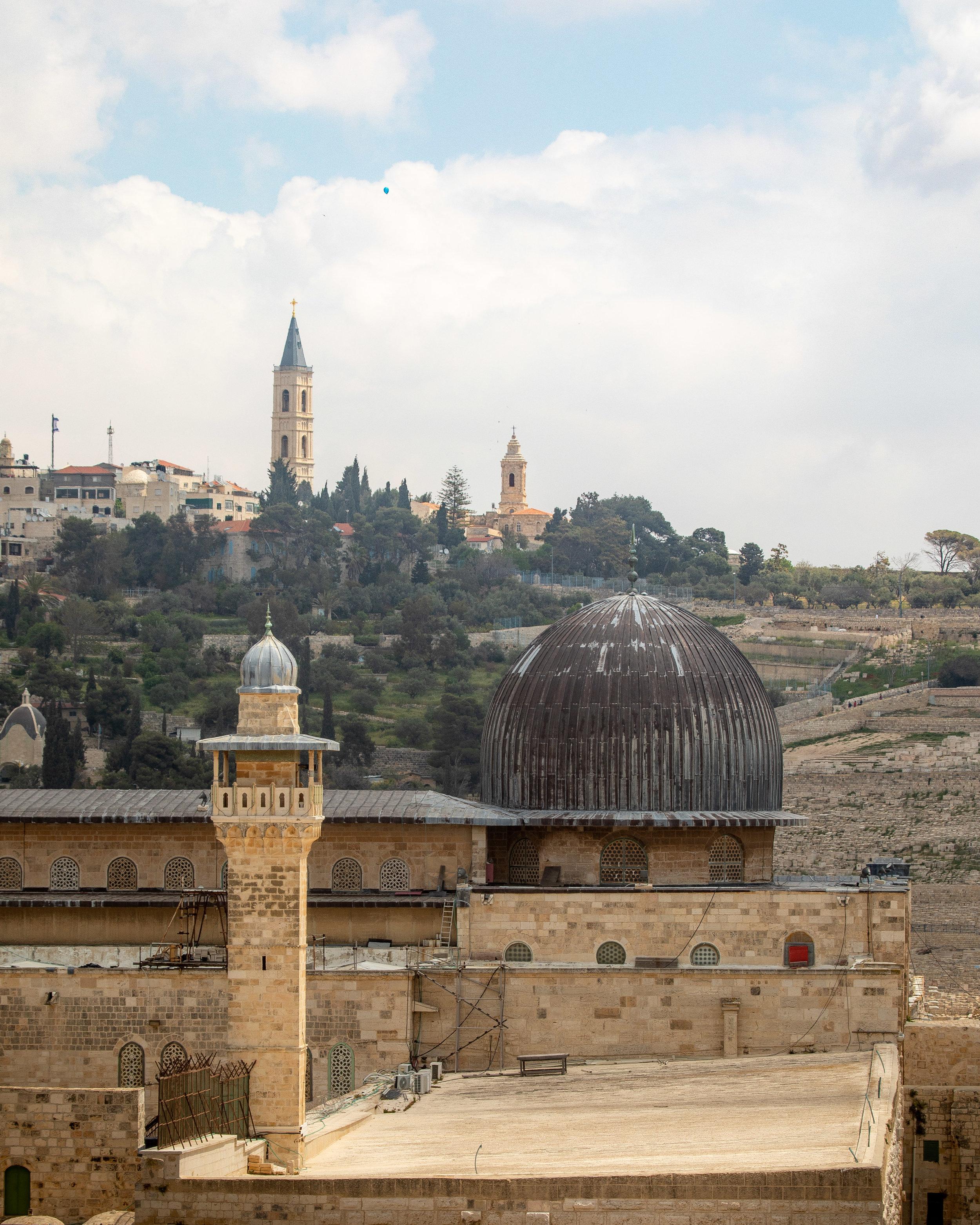 The Ramparts Walk - Jerusalem itinerary