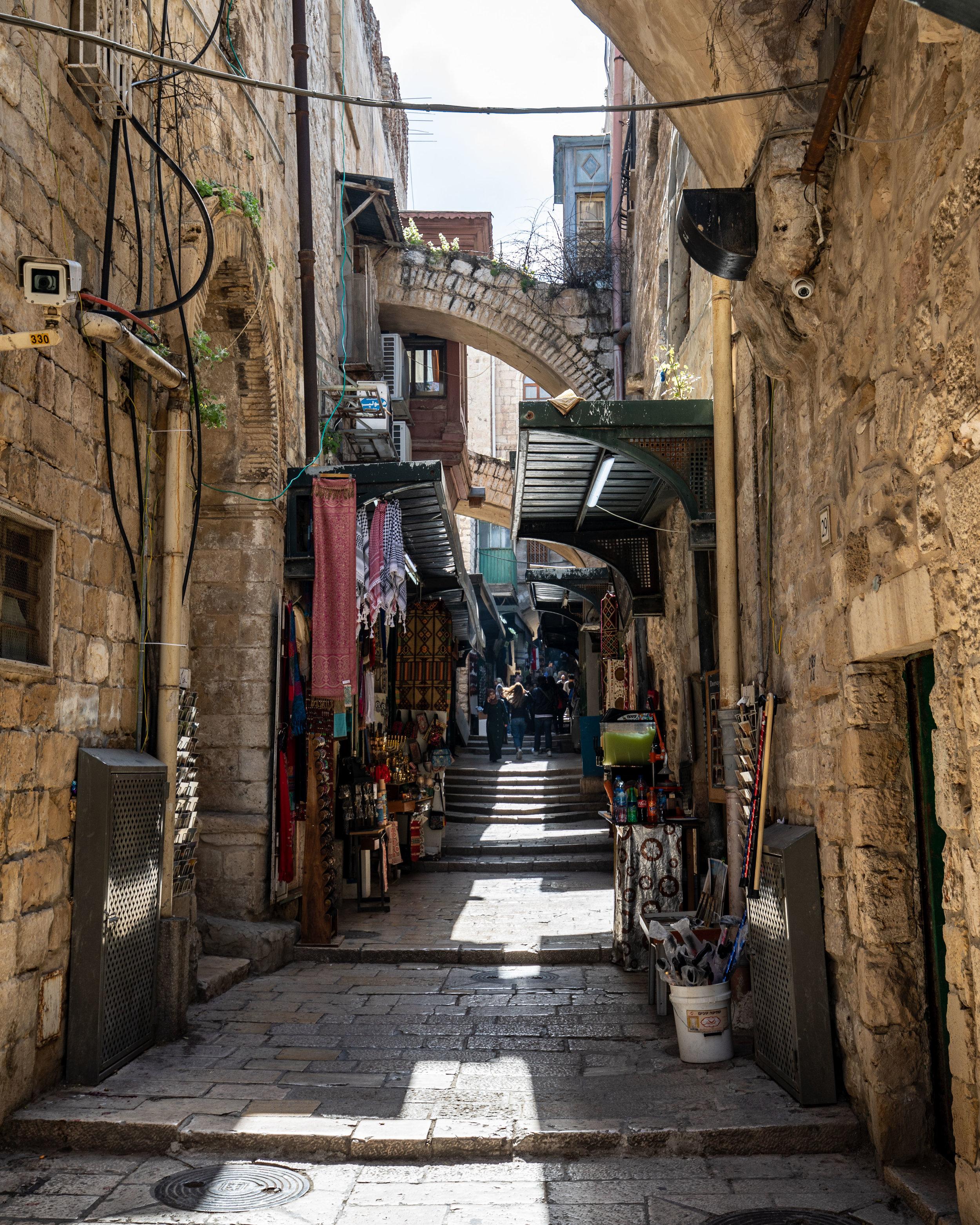 Via Delarosa - Jerusalem itinerary