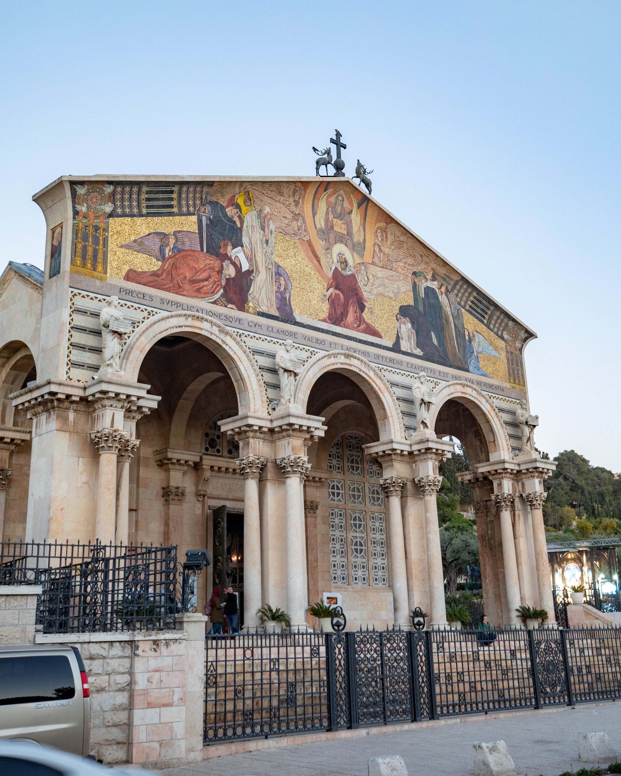 The Church of Nations in the Garden of Gethsemene