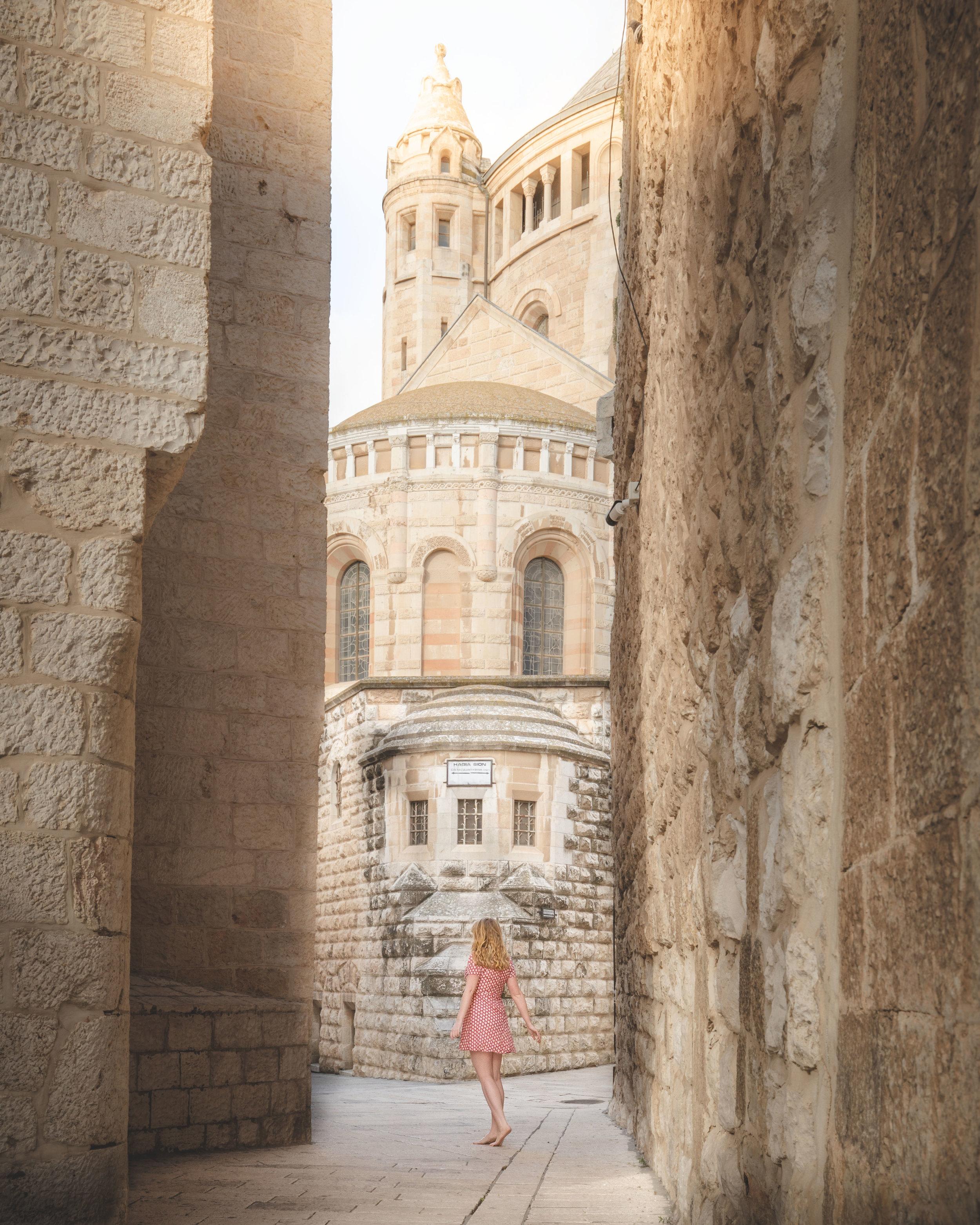 The streets by the Zion Gate, Jerusalem