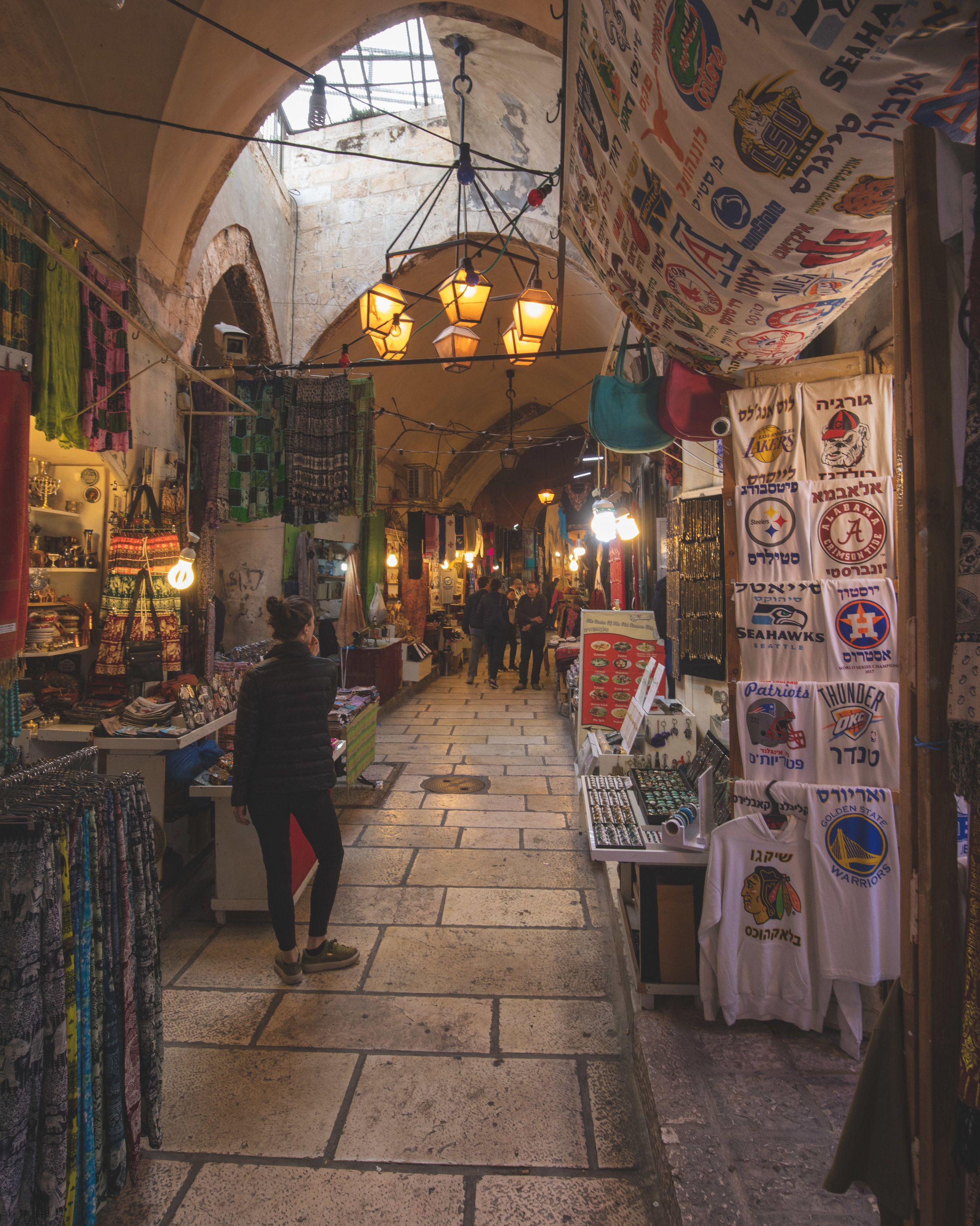 The streets of the Old City