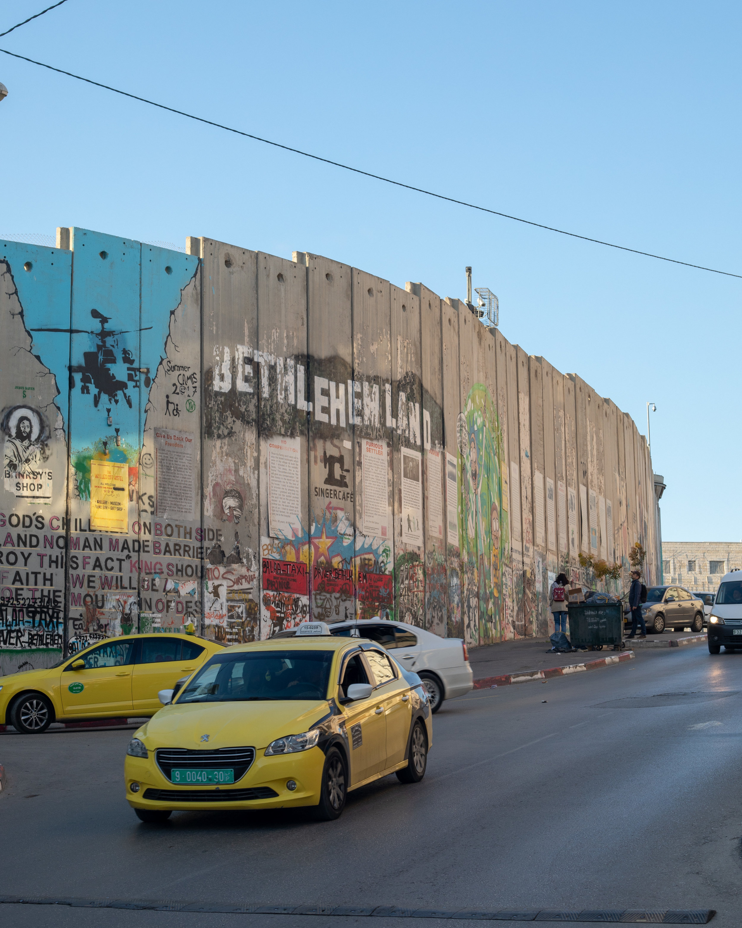 The wall in Bethlehem