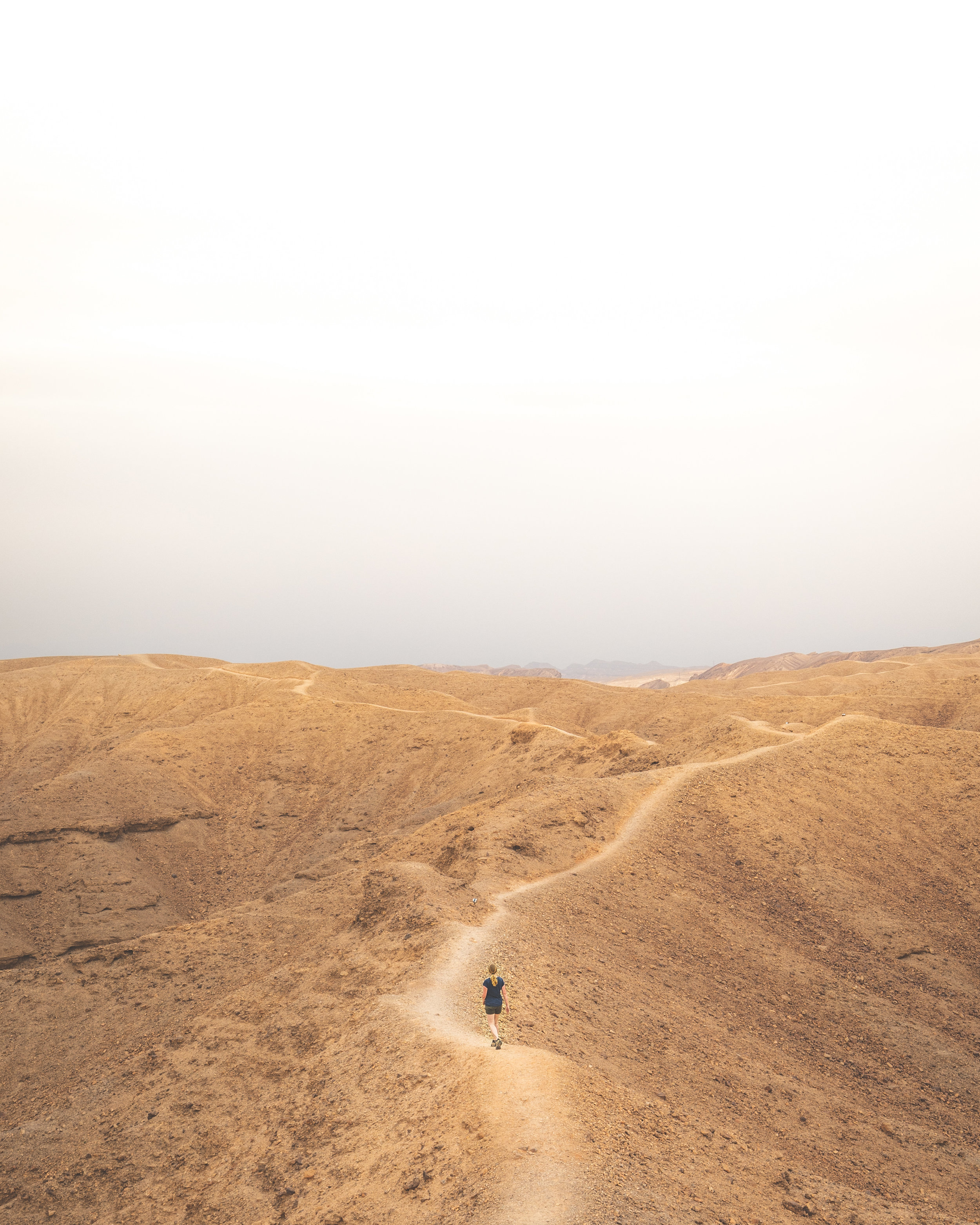 The ridges of Ada Canyon - Things to do in the Negev Desert