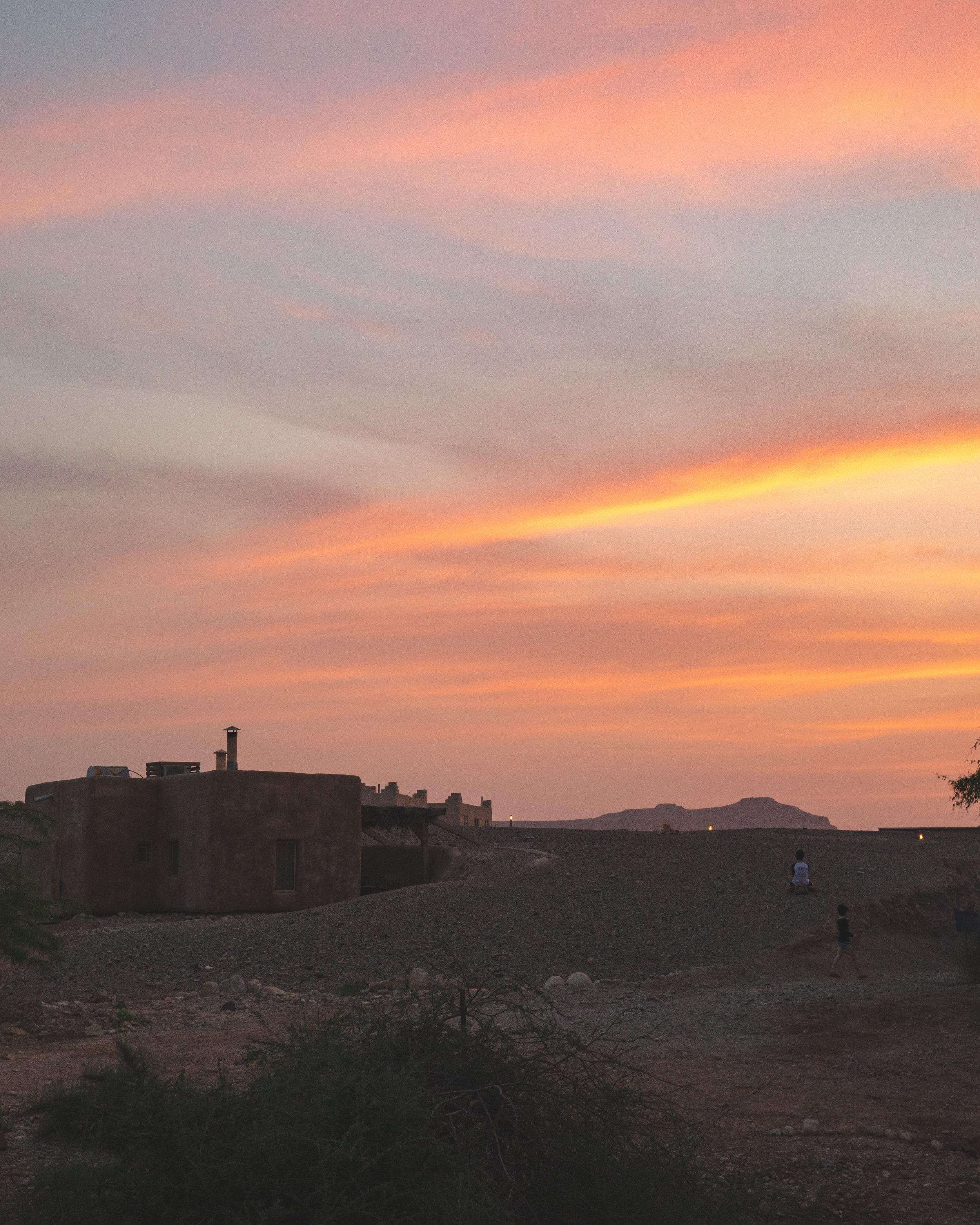 Sunset at Negev Desert - Best things to do in Negev Desert