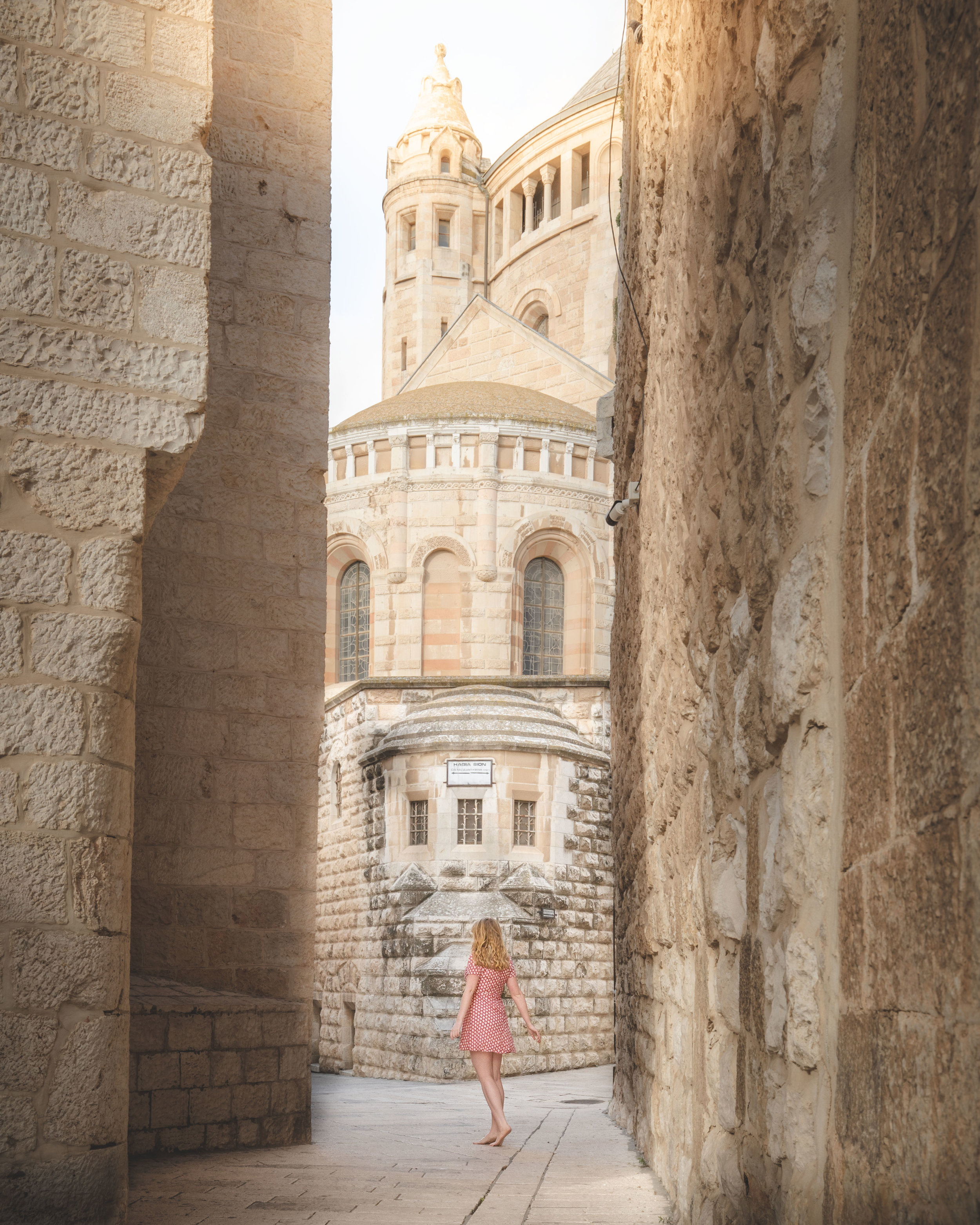 The Cenacle in Jerusalem