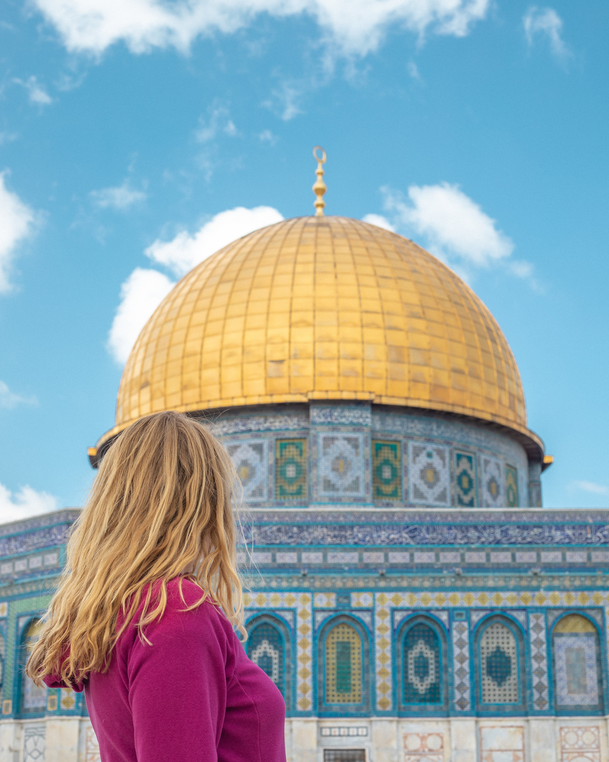 The Dome of Rock from the Temple Mount