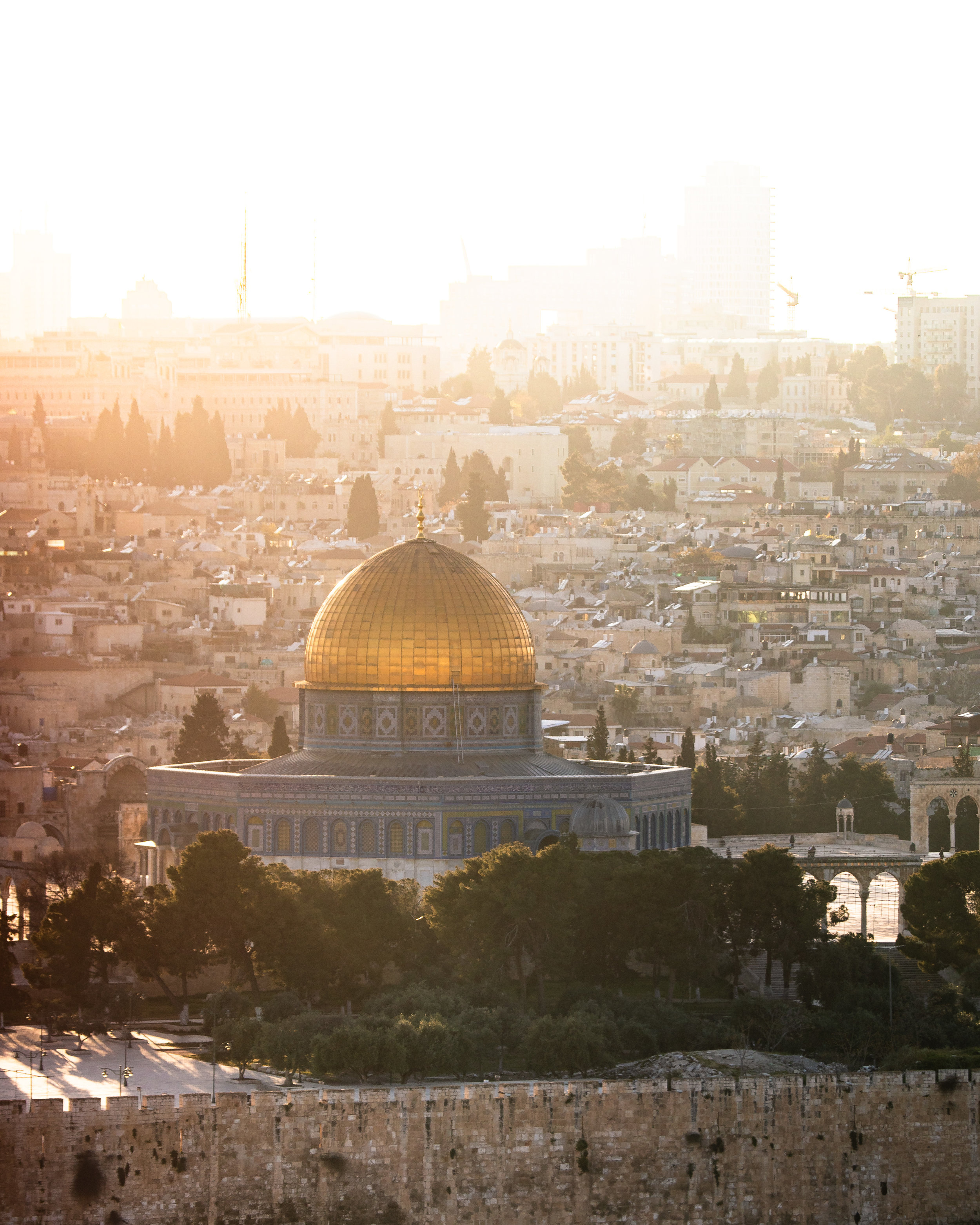 The Dome of Rock from the Mount of Olives