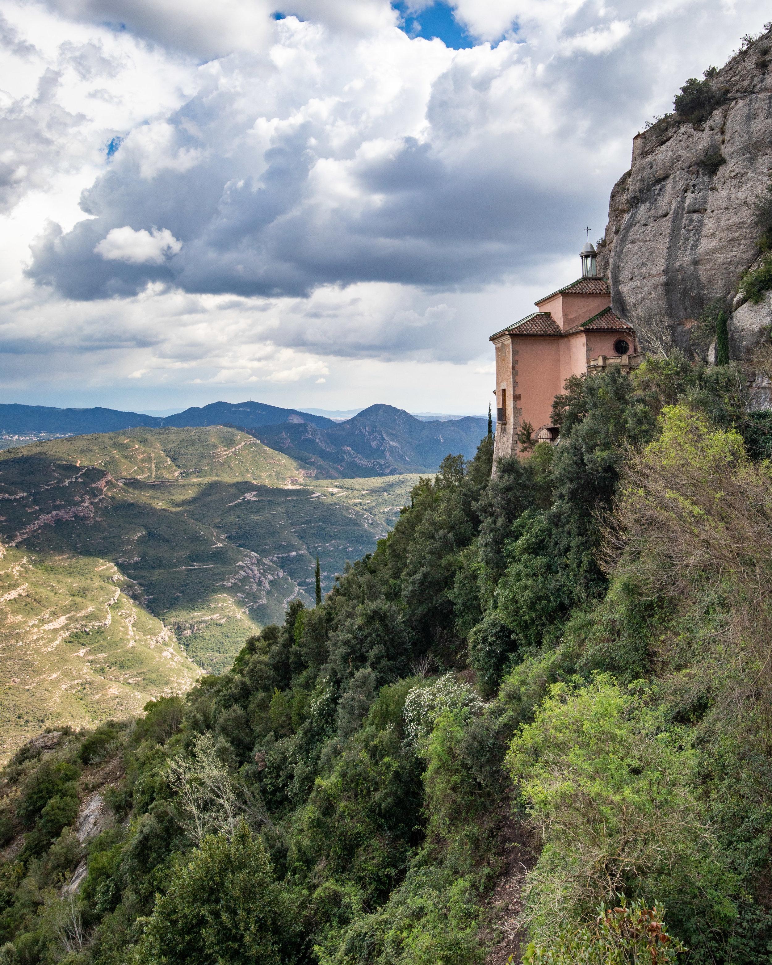 Capella de la Santa Cova - day trip to Montserrat
