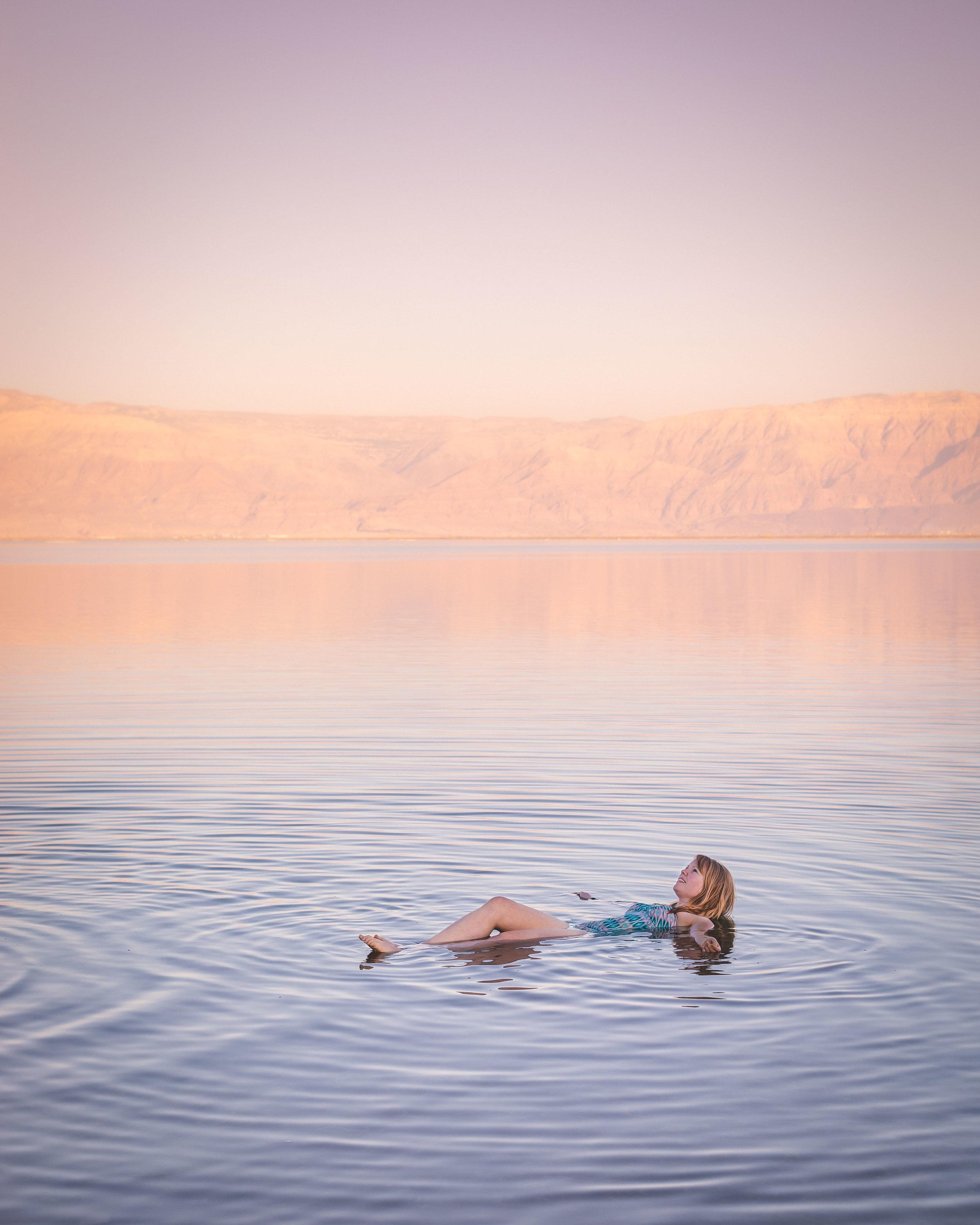 Instagrammable Israel - Dead Sea